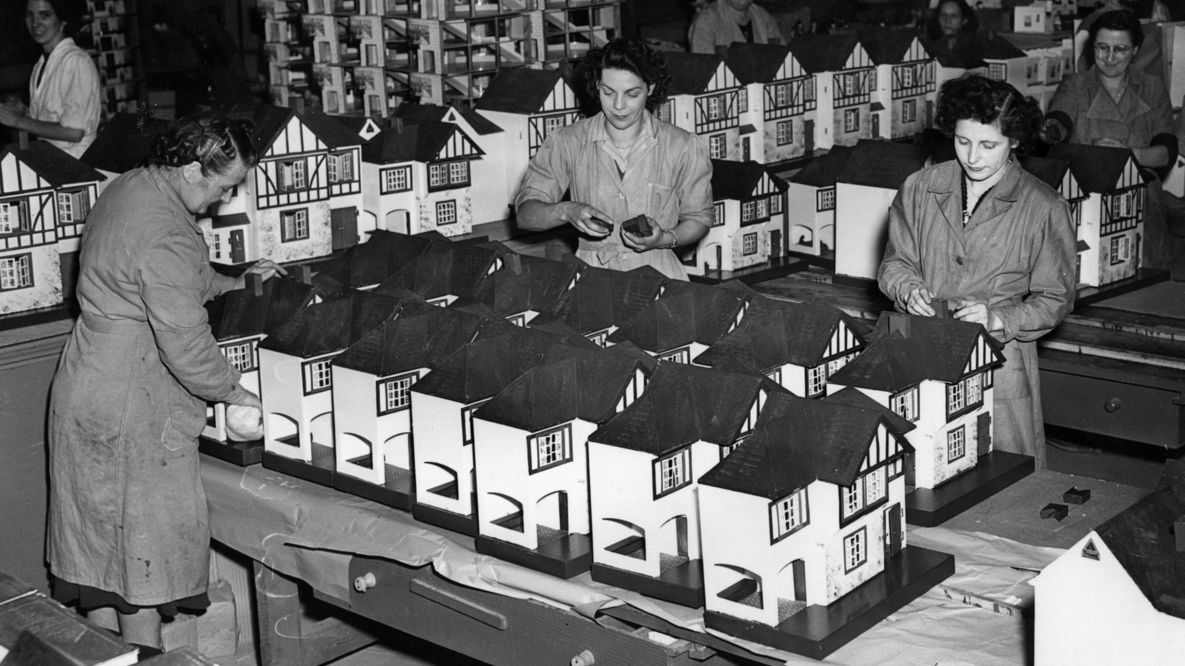 Dollhouse factory