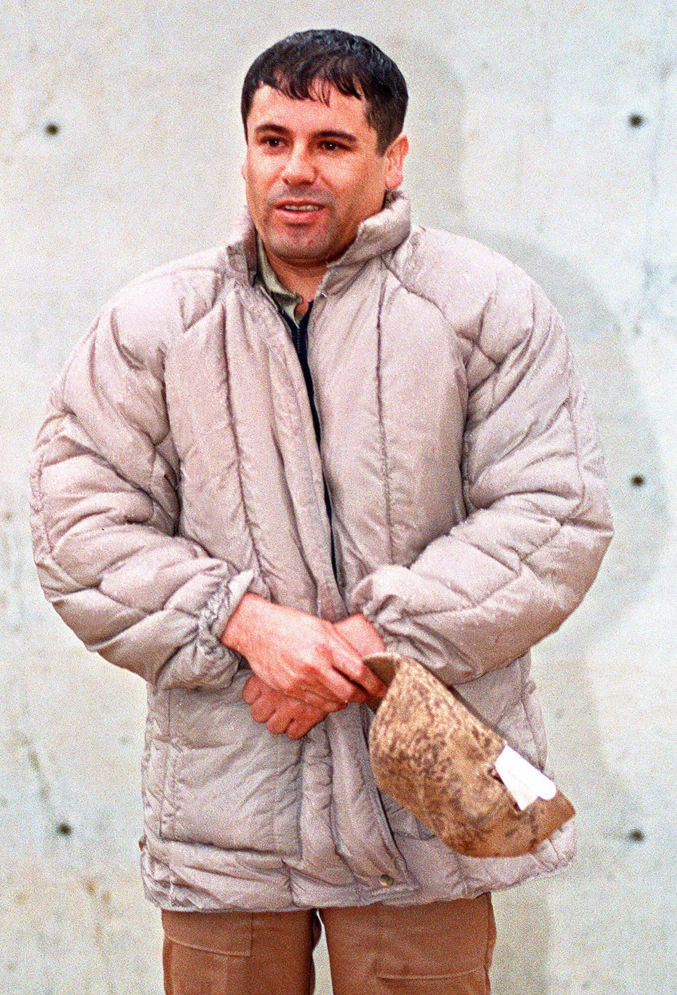 "Mexican drug lord Joaquin ""El Chapo"" Guzman,"