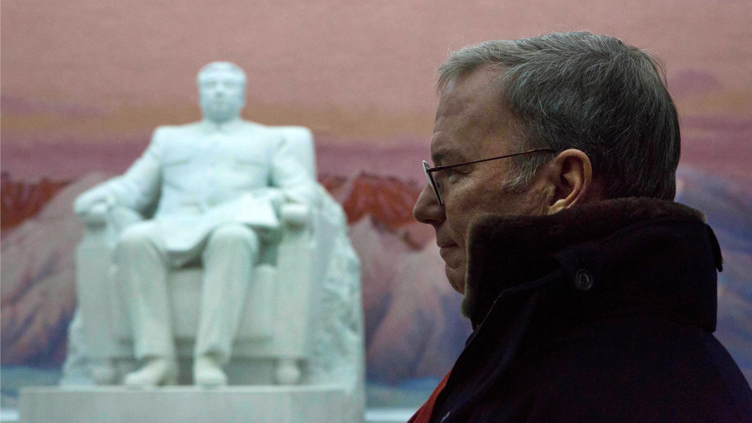 Eric Schmidt in North Korea