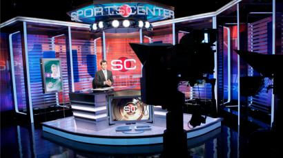 ESPN's Sportscenter studio