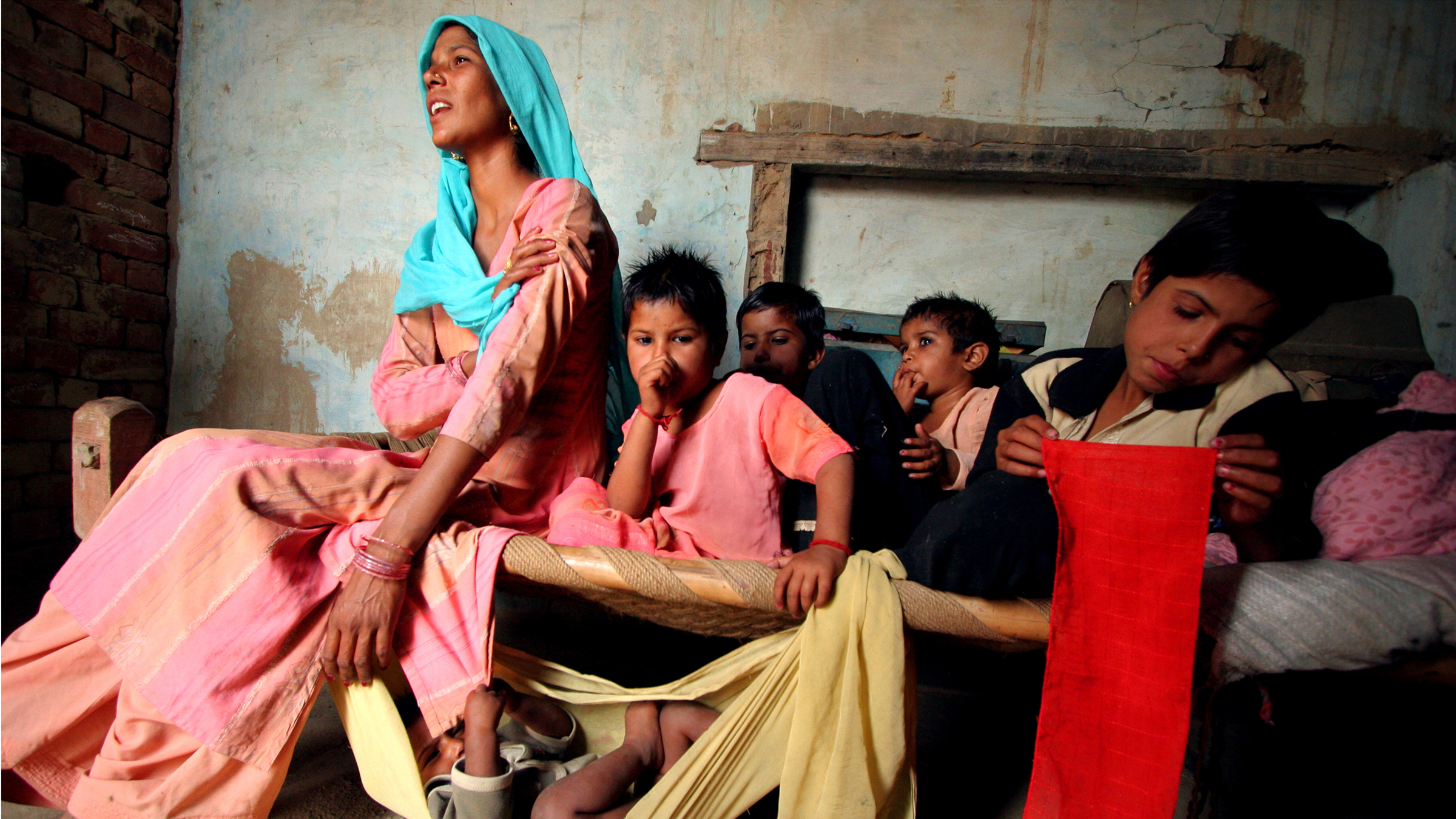 Married off at the age of 13, Rajbala's reproductive journey began six months later.