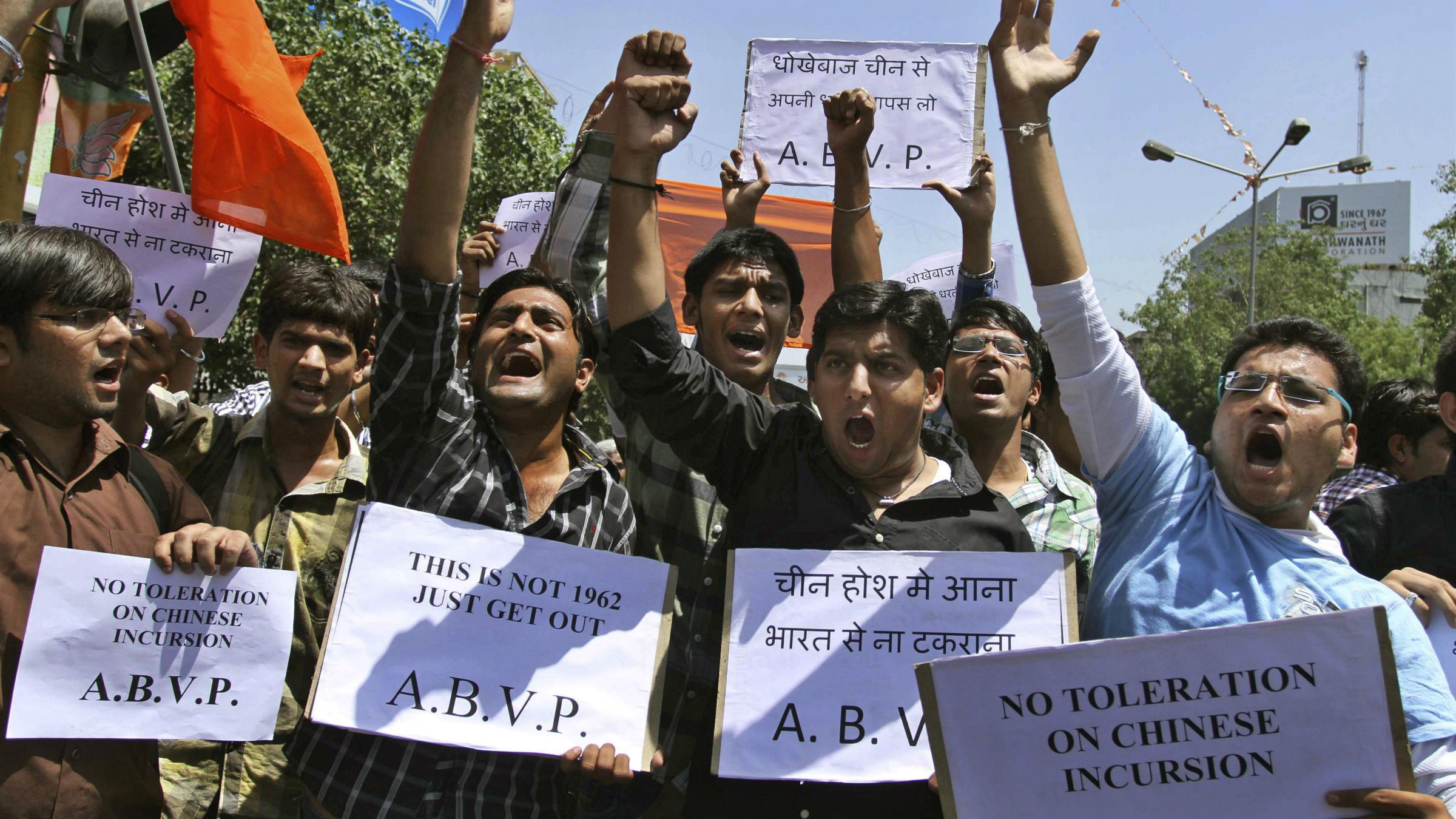 India-China border protests