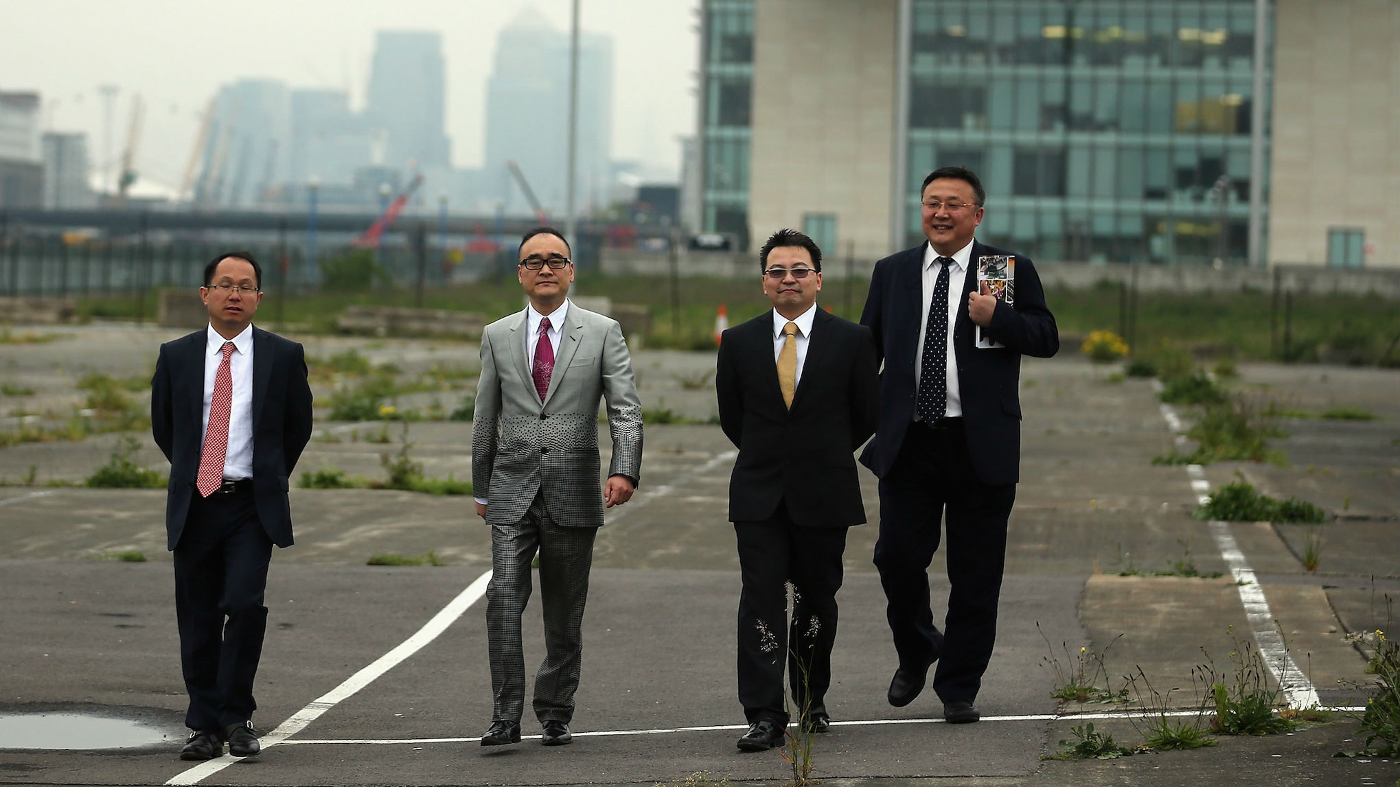 London docklands China web