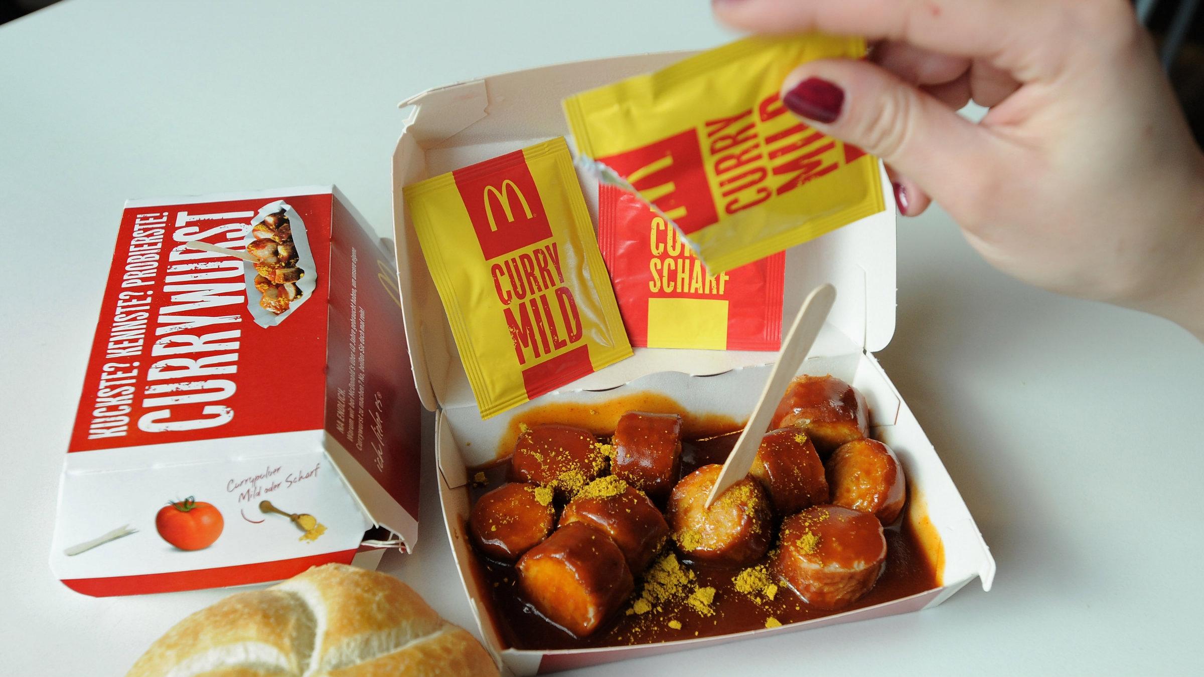 mcdonald's currywurst