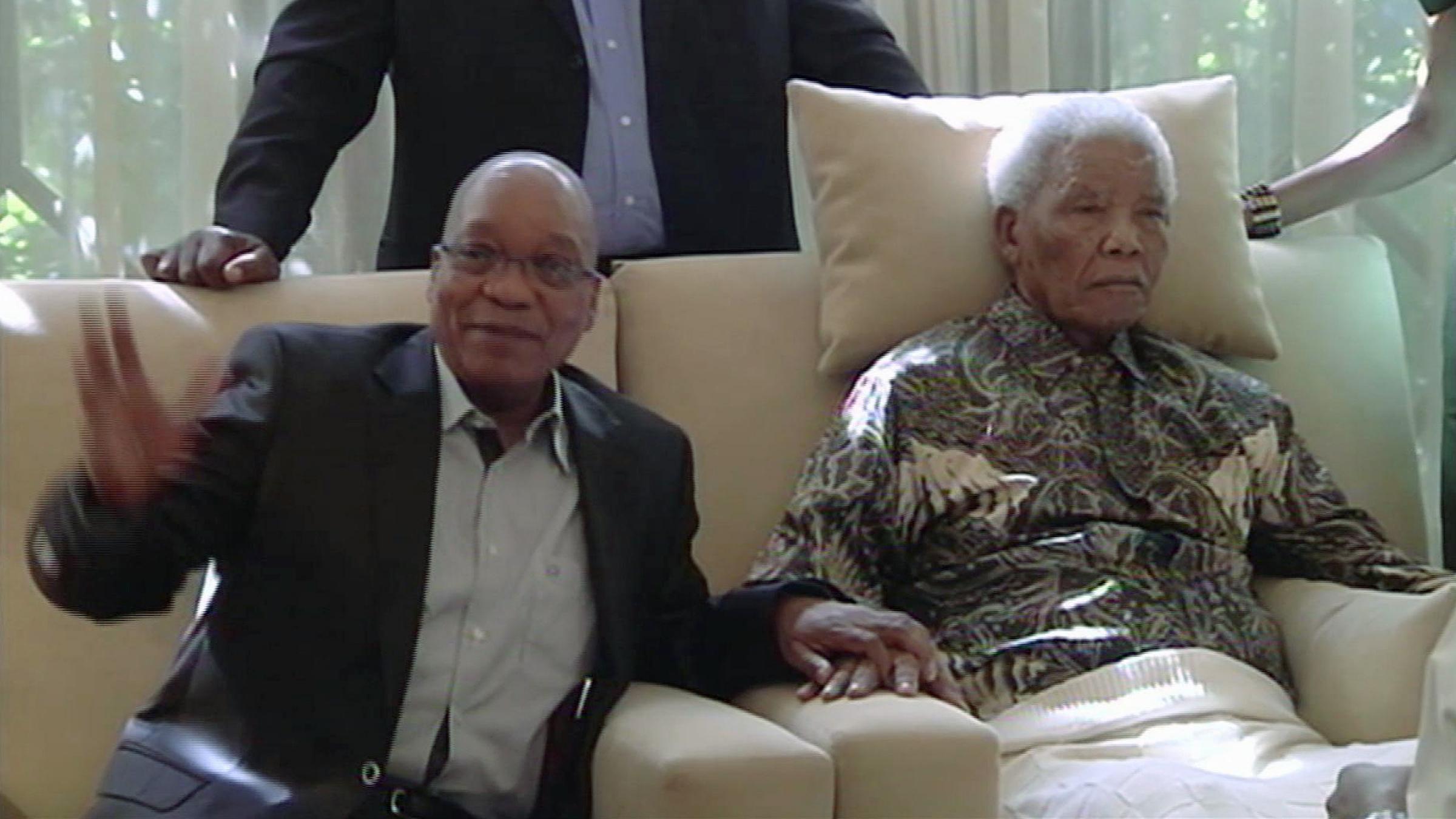 Nelson Mandela and President Jacob Zuma