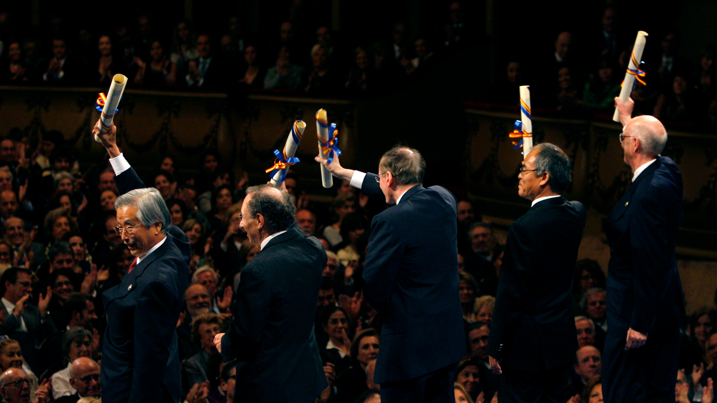 2008 Prince of Asturias award for Technical and Scientific Research.