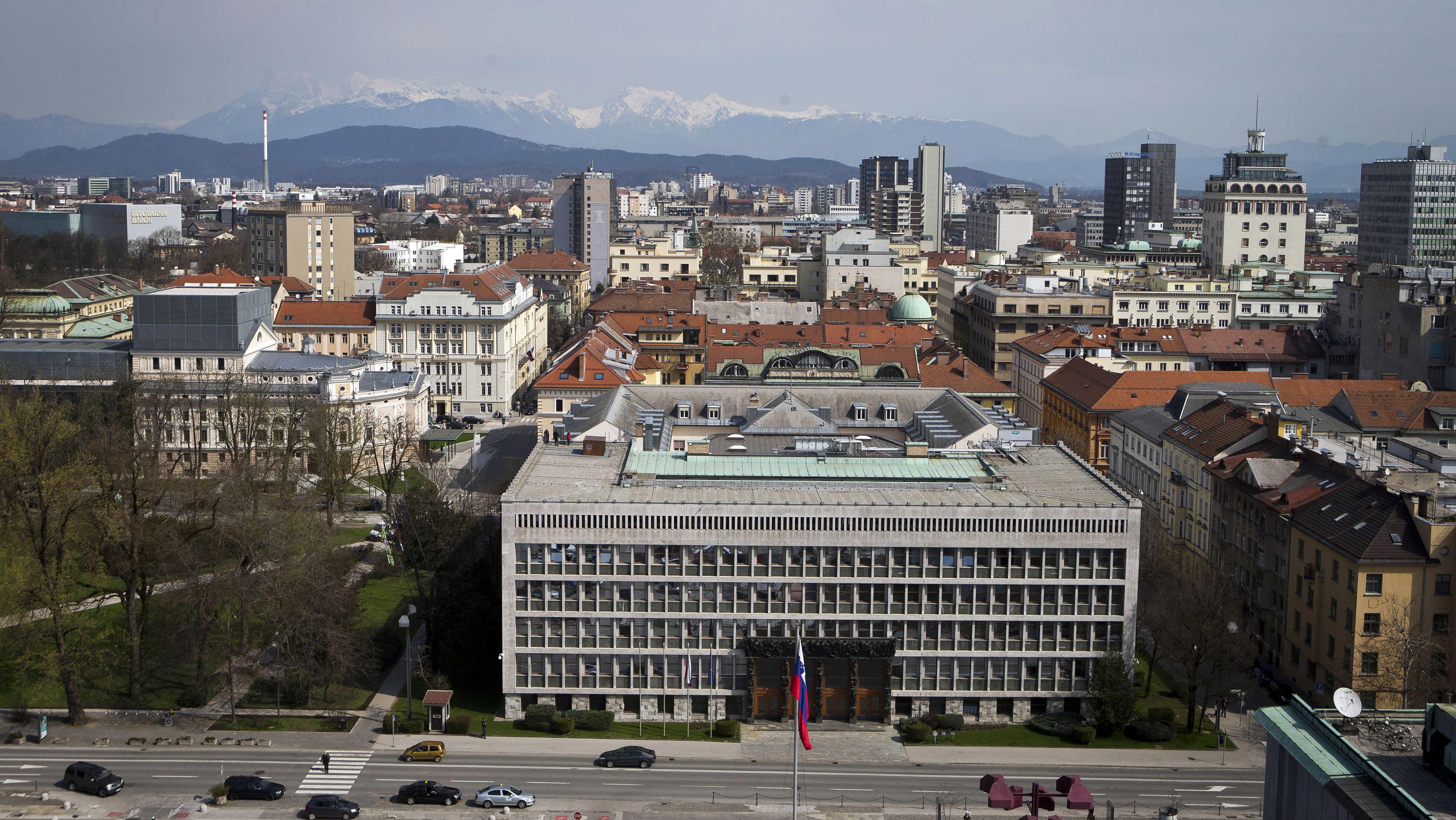 Ljubljana downtown Slovenia