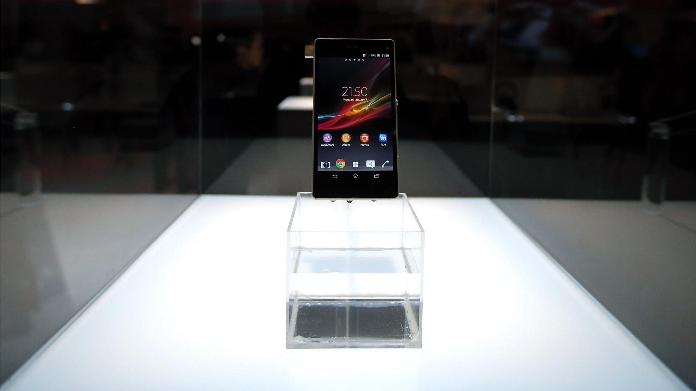 Sony's Xperia smartphone