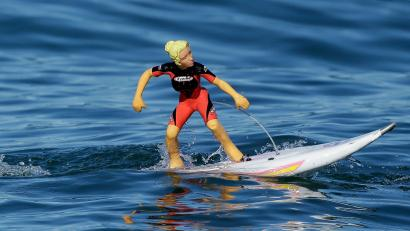 Toy surfer