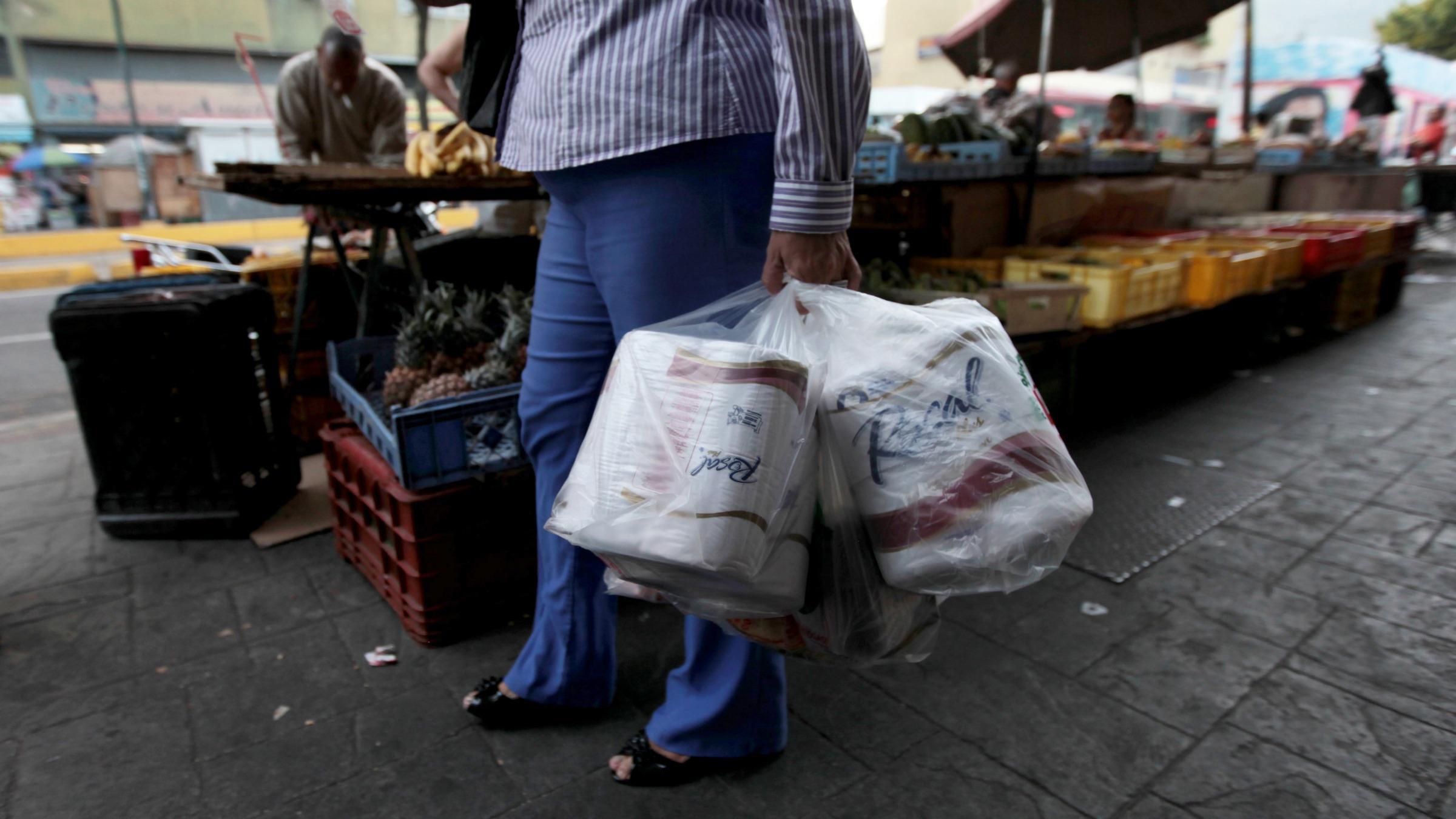 Venezuela has no toilet paper.
