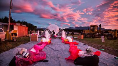 Google launched Project Loon in New Zealand, and it wasn't just for the scenery