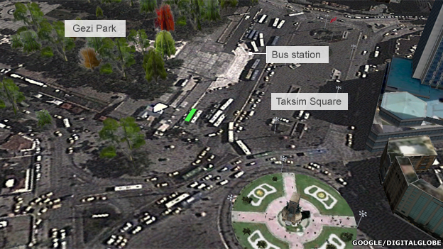 taksim square plans now turkey