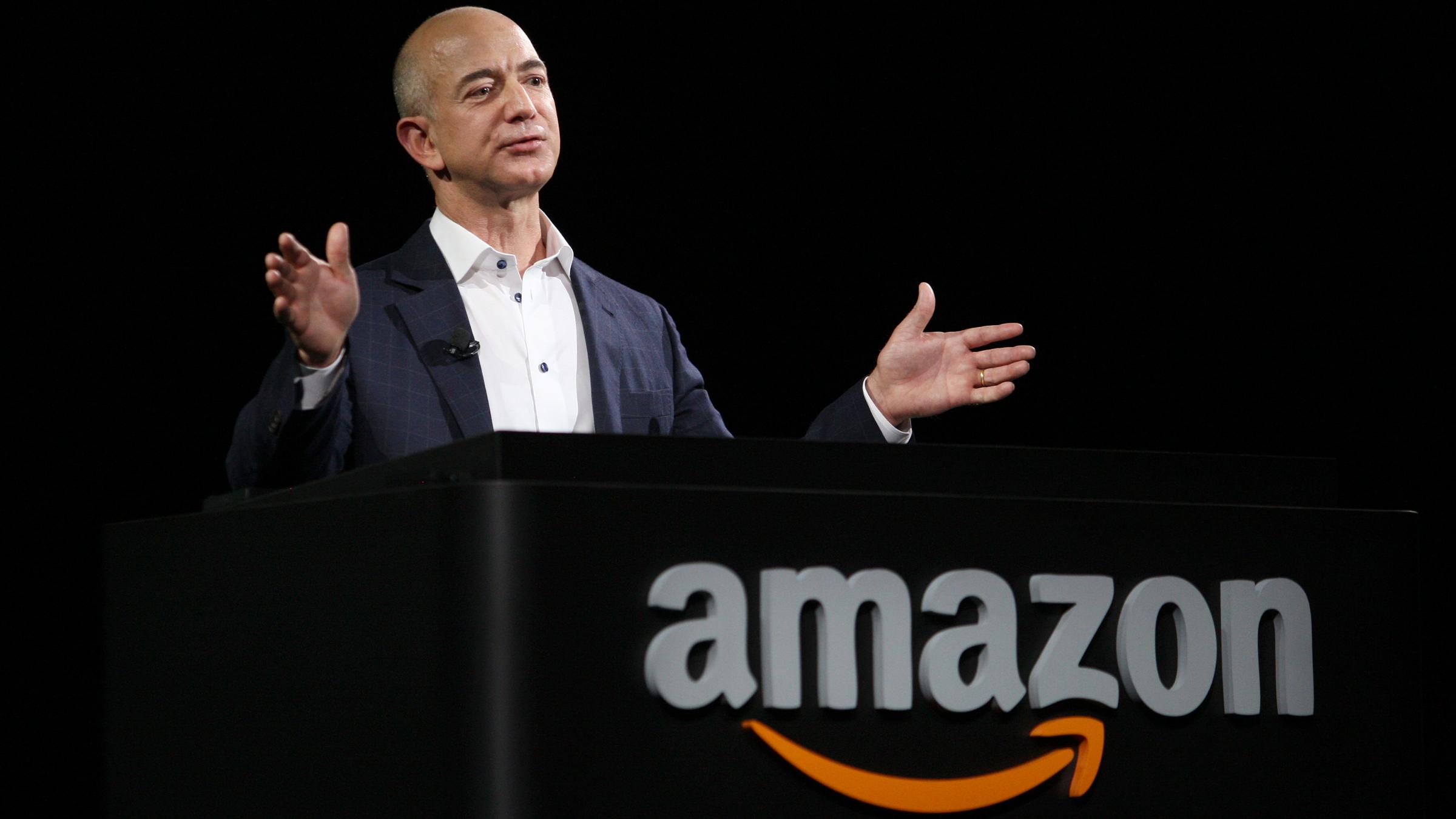 Amazon CEO Jim Bezos