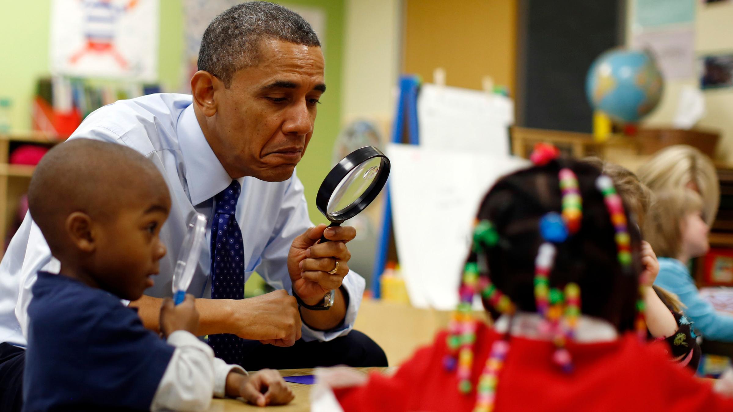 Barack Obama Classroom