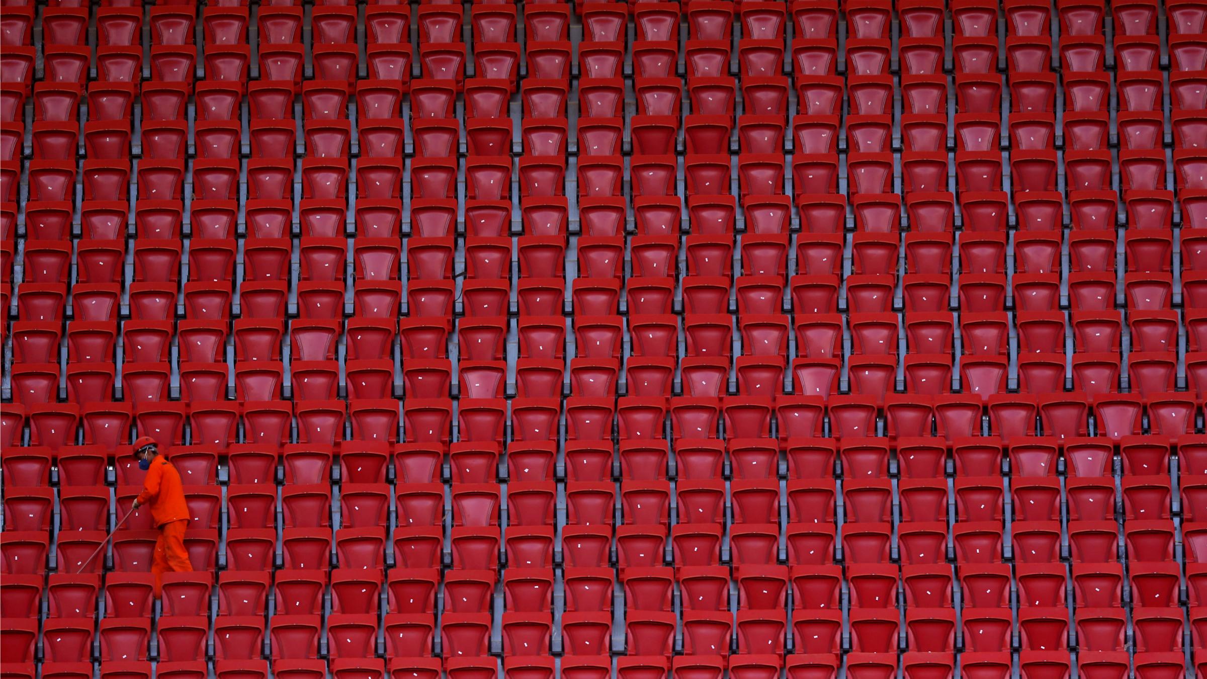 Brazil soccer stadium