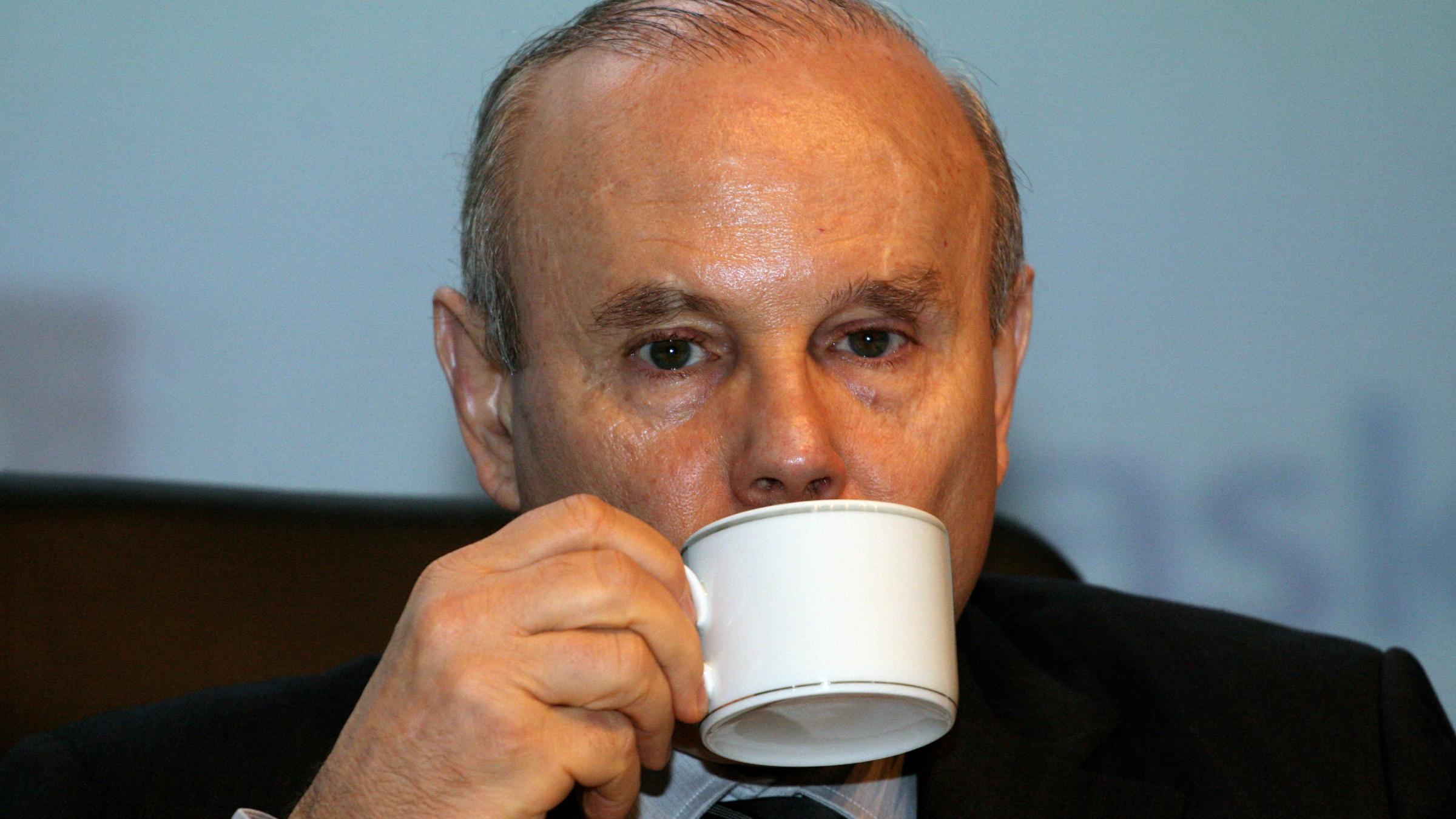 Brazilian Finance Minister Guido Mantega