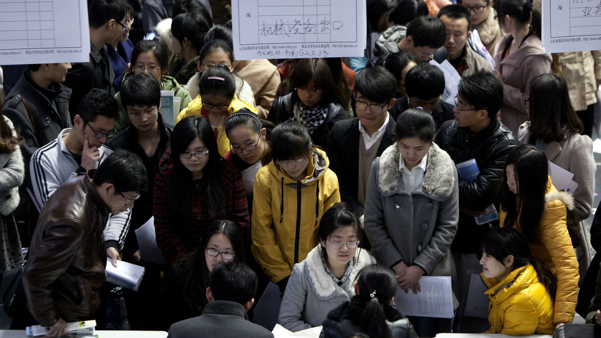 China job fair web