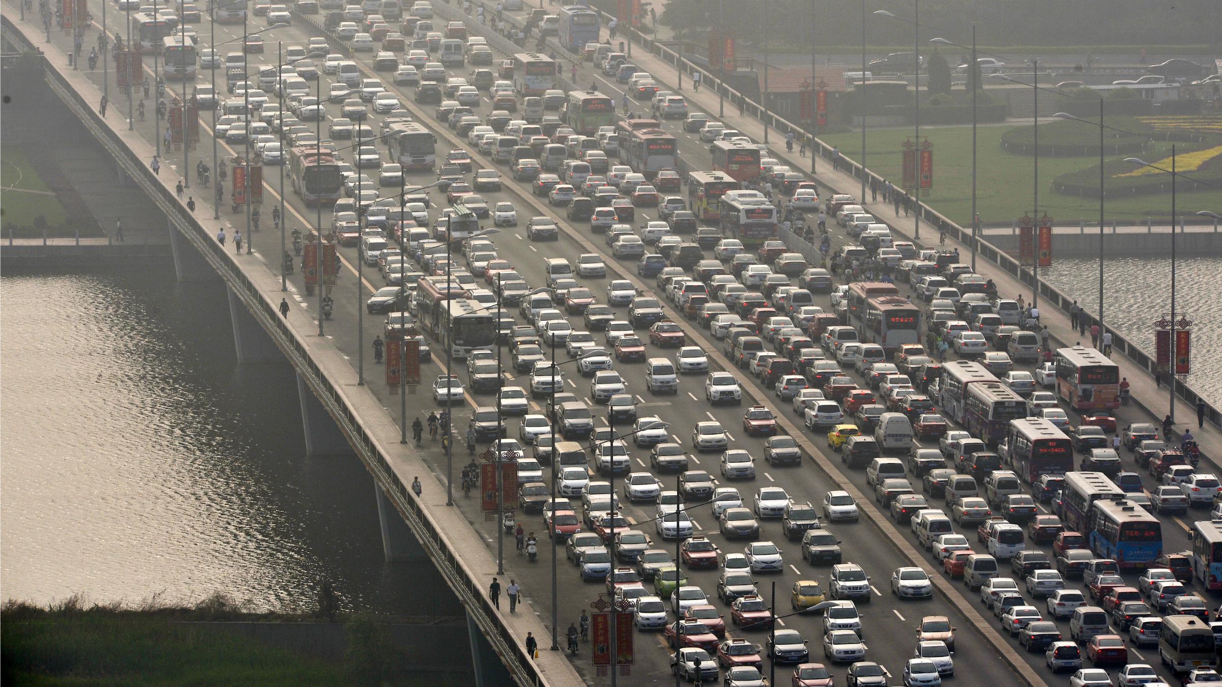 City car traffic
