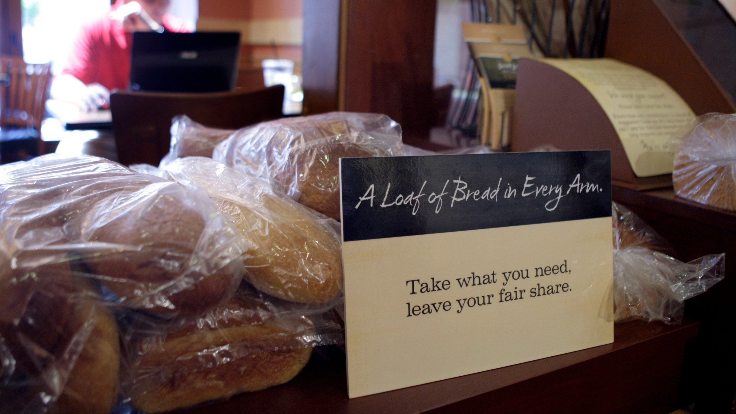 Pay as you wish Panera Bread