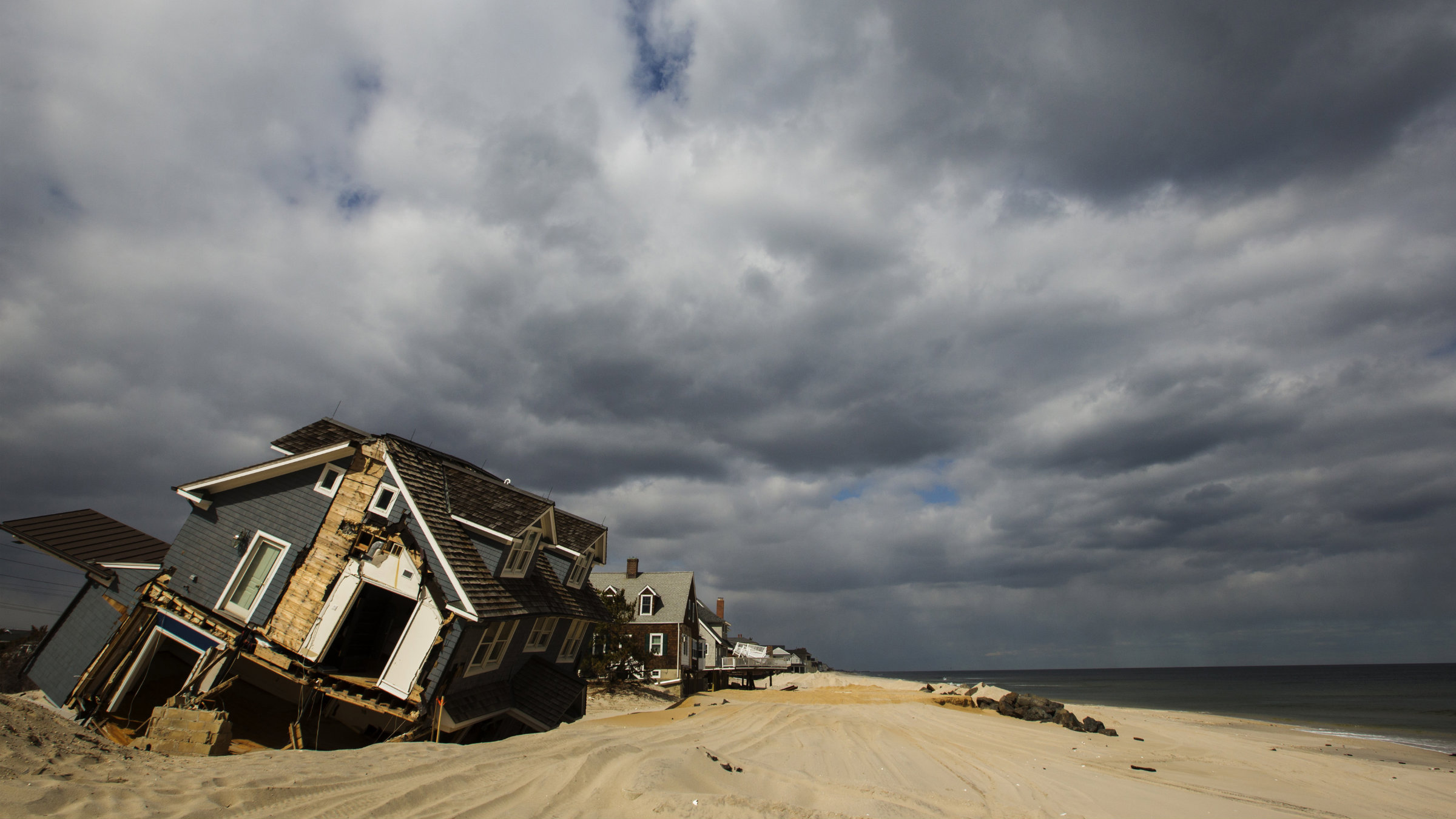 Mantoloking, New Jersey on March 22, 2013.