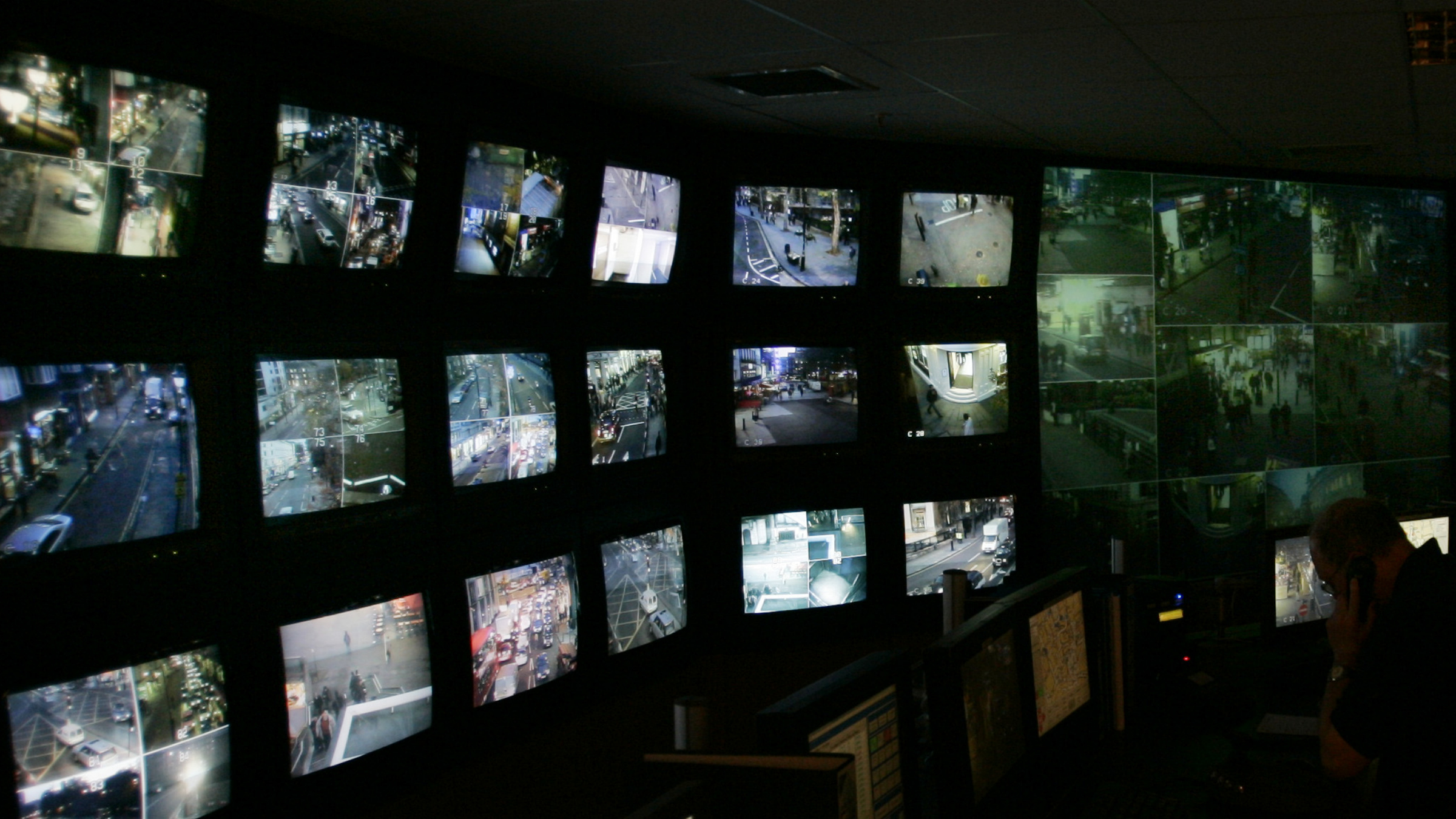 Security camera room