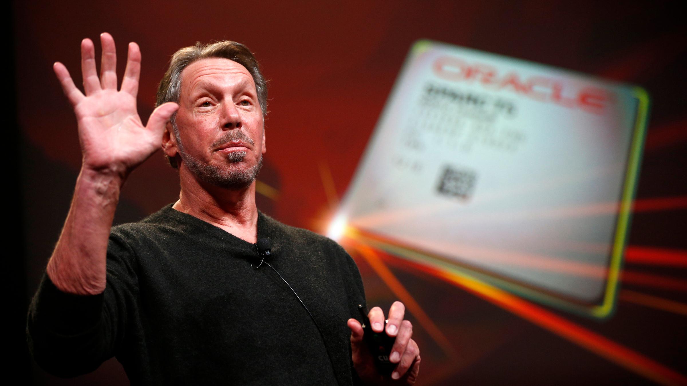 Oracle CEO Steve Ellison