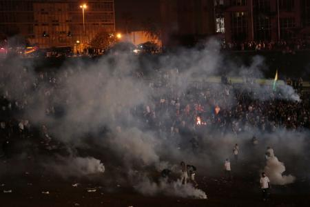 Tear gas protests