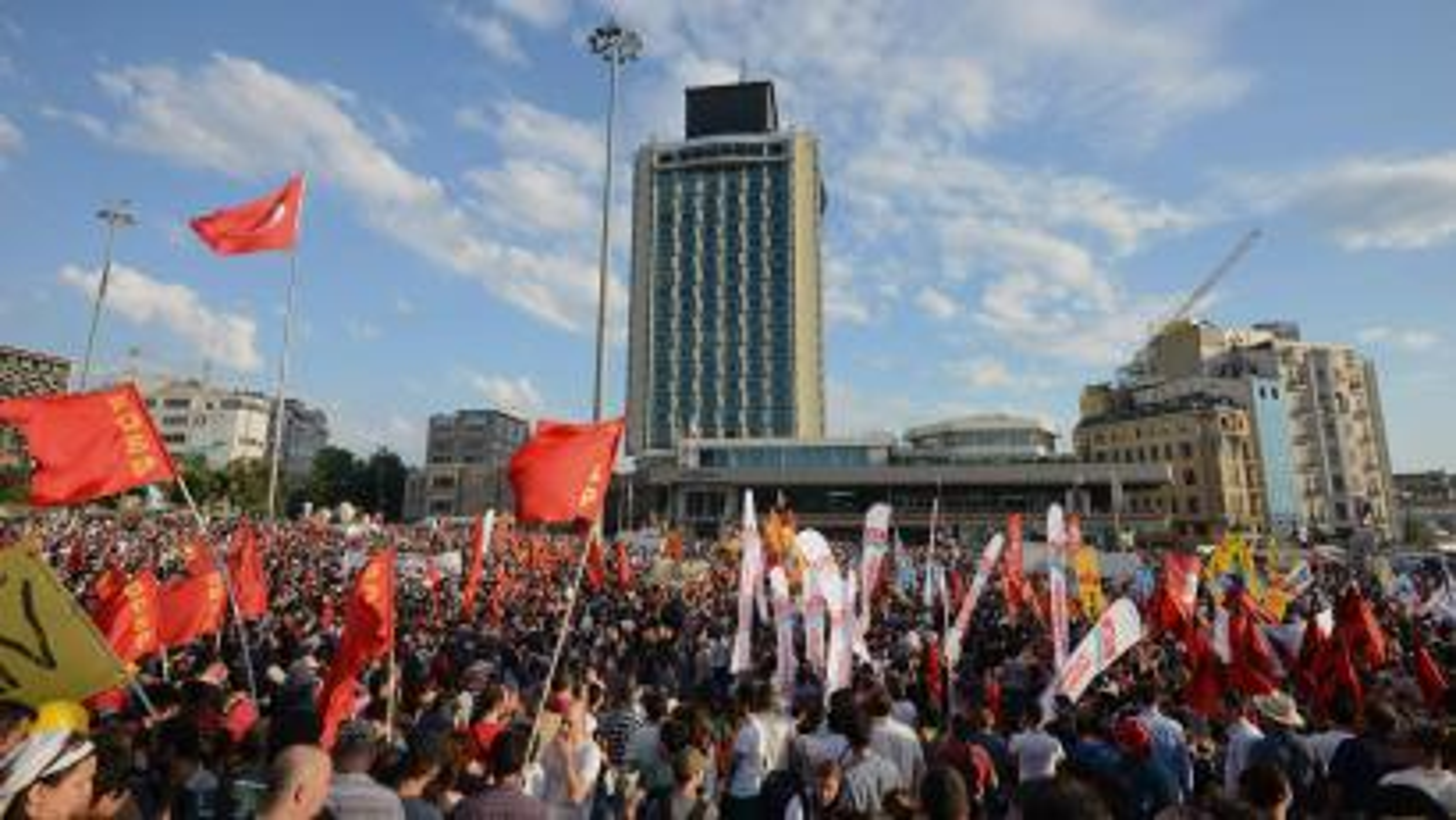 Turkish protestors, Taksim Square