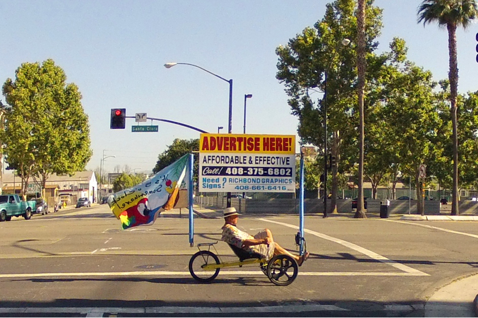 bicycle billboard hedge funds