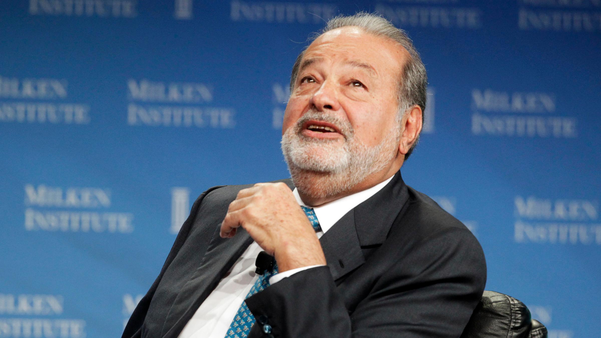 Kết quả hình ảnh cho Carlos Slim