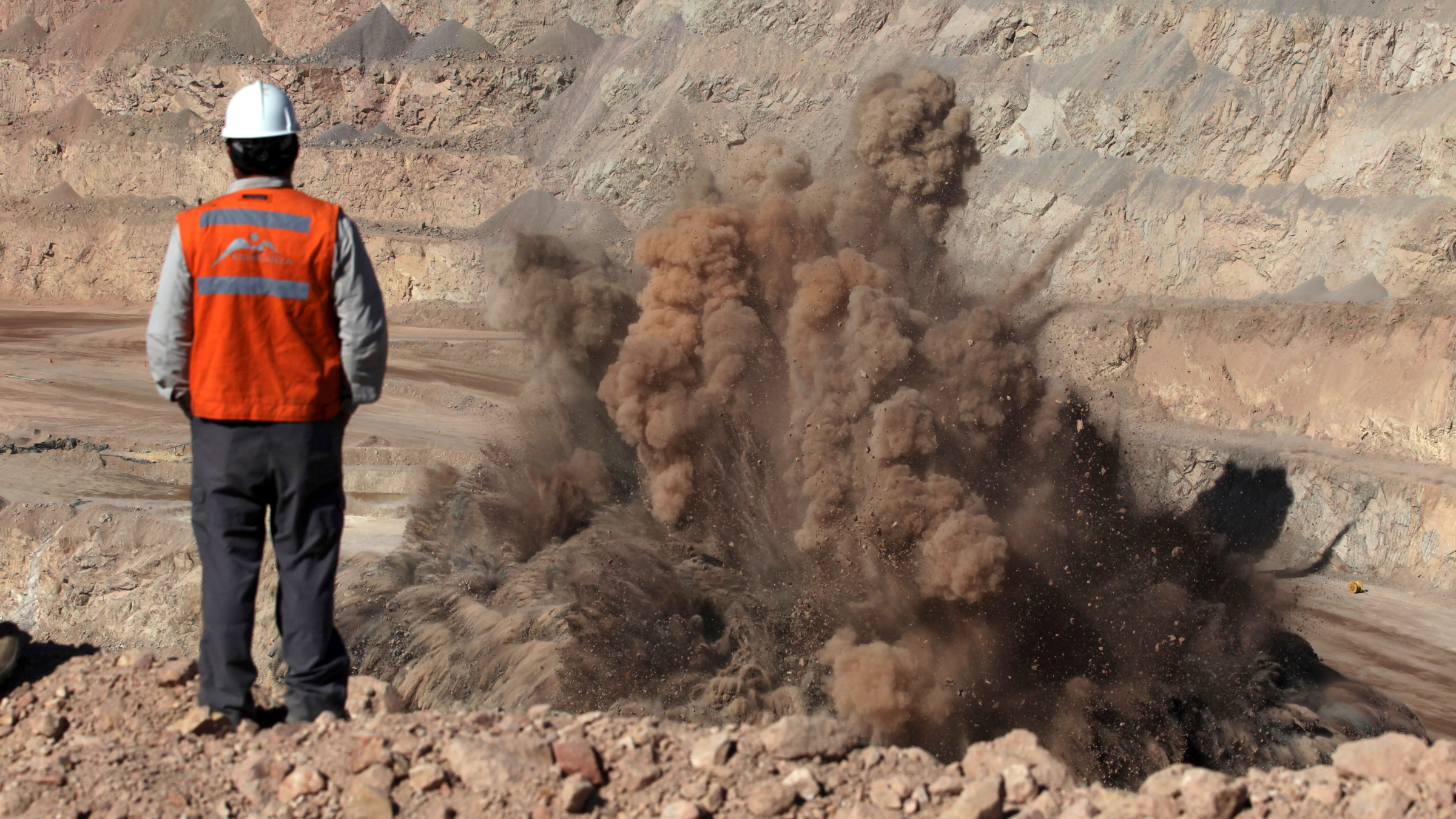 Chile copper mine explosion