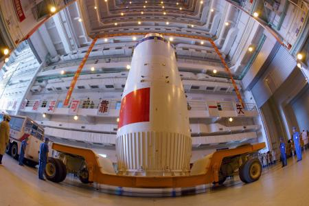 The Shenzhou-7 manned spaceship