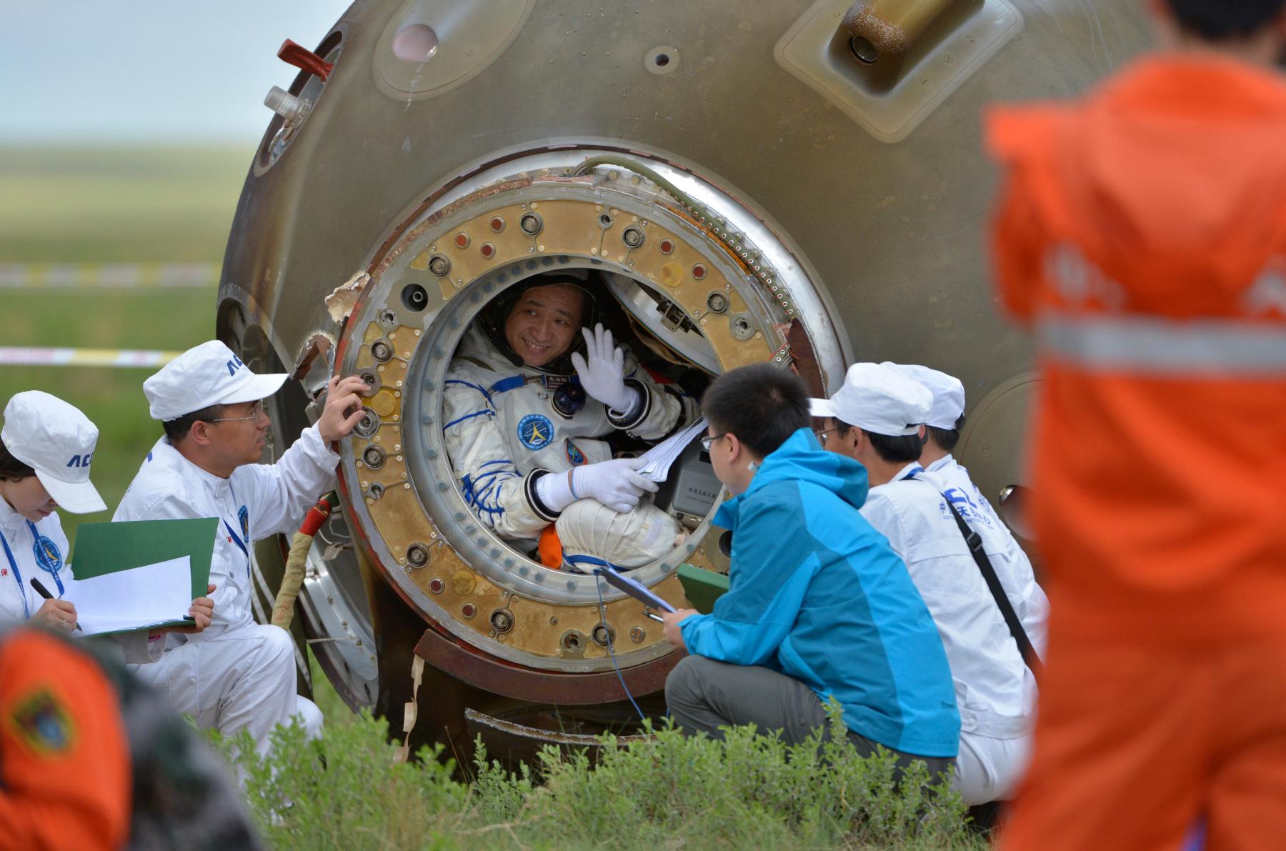 Chinese astronaut Nie Haisheng