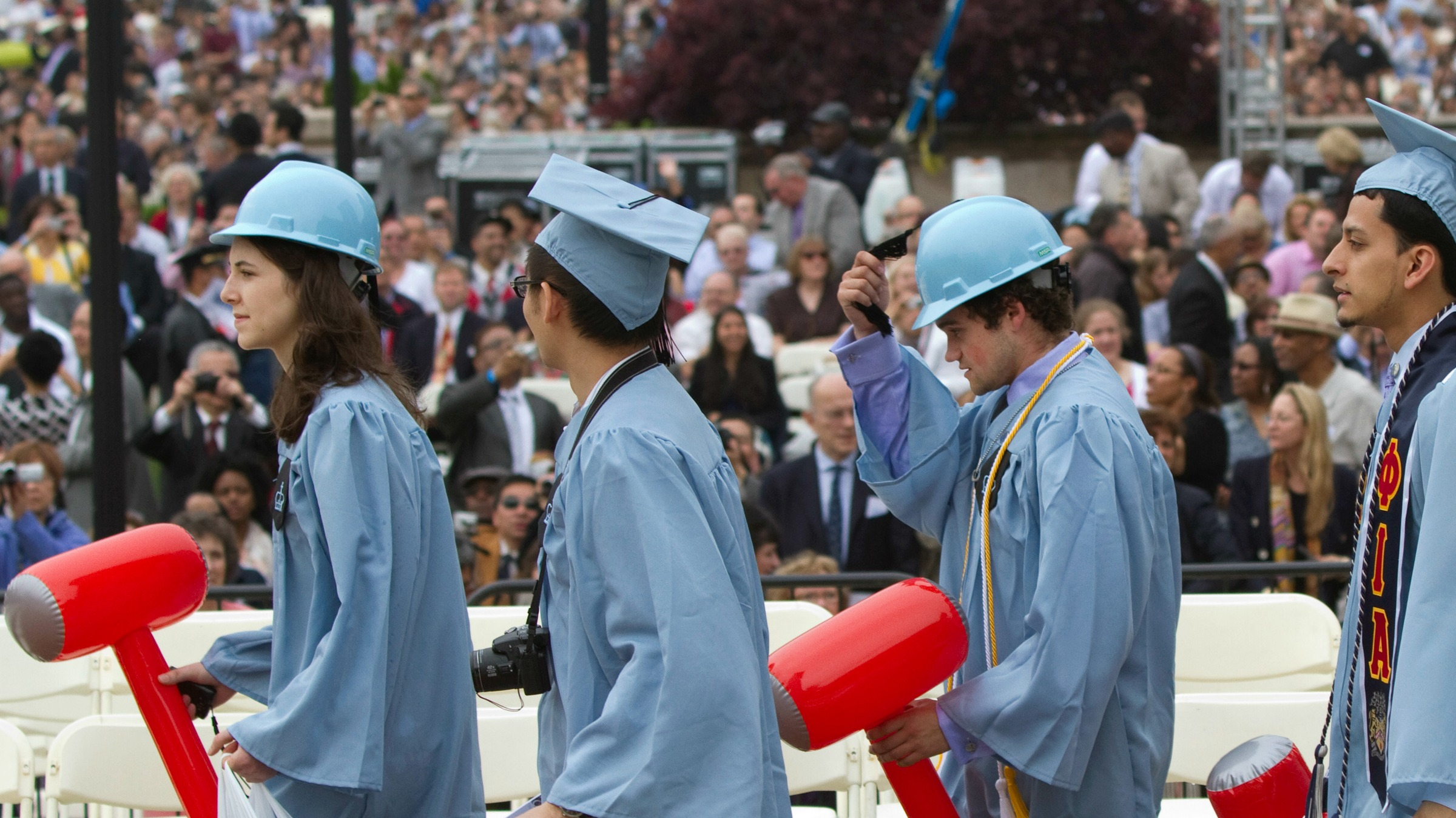Graduates of Columbia's Engineering school