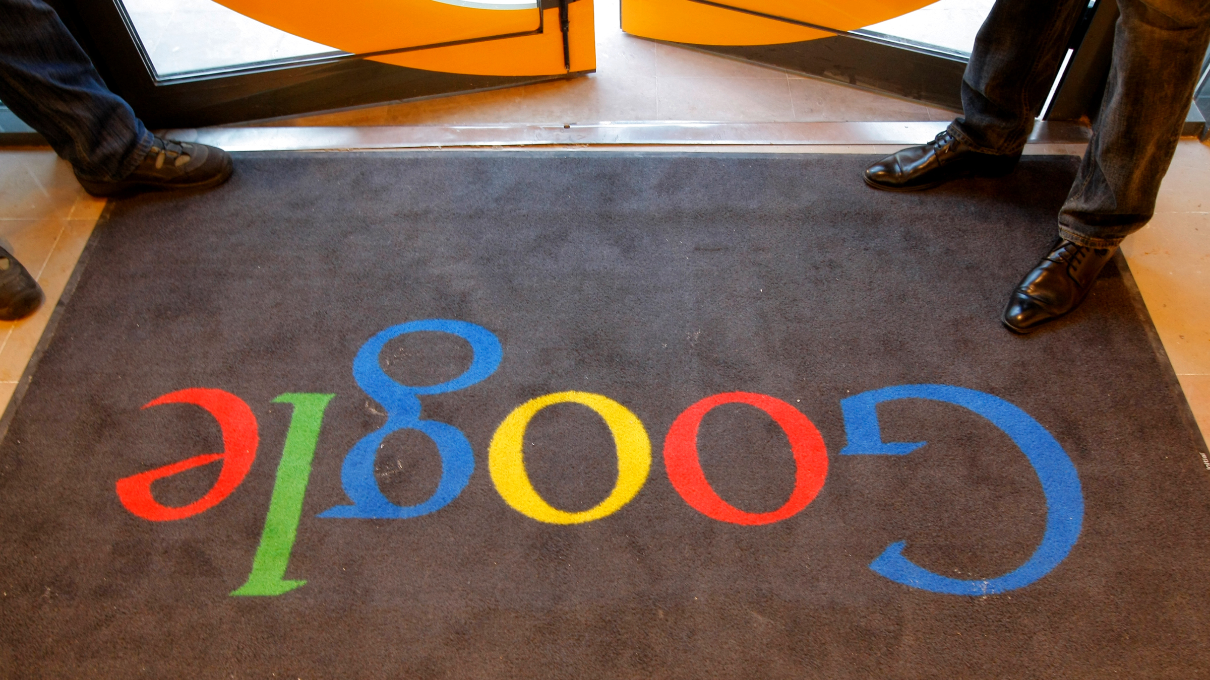Google welcome mat
