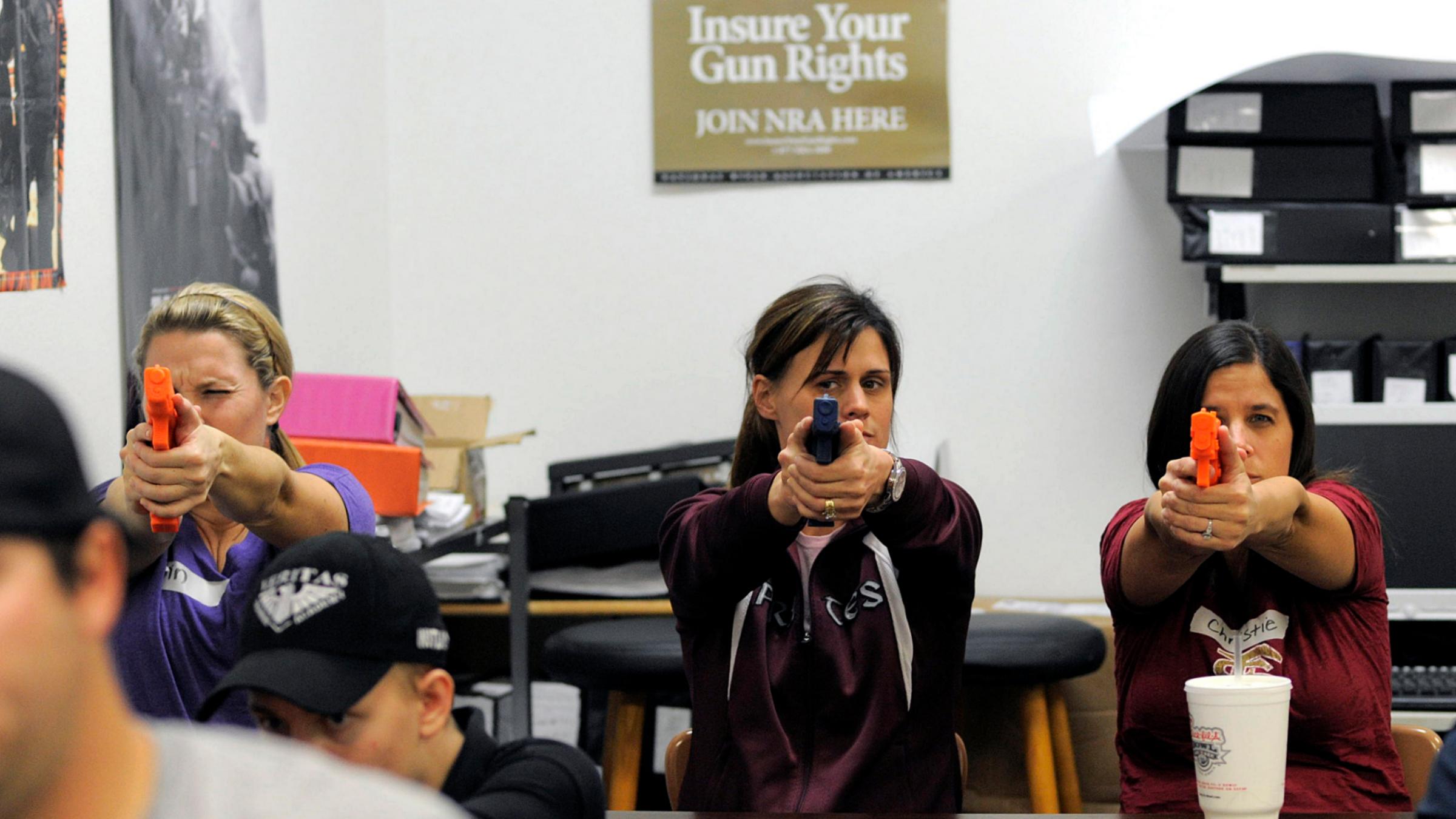 NRA Teacher Guns