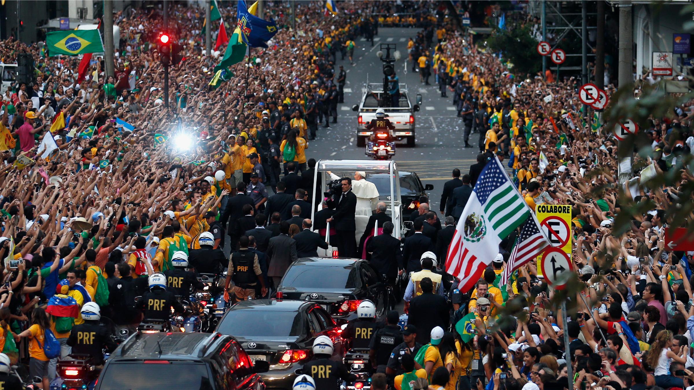 Pope Francis Brazil