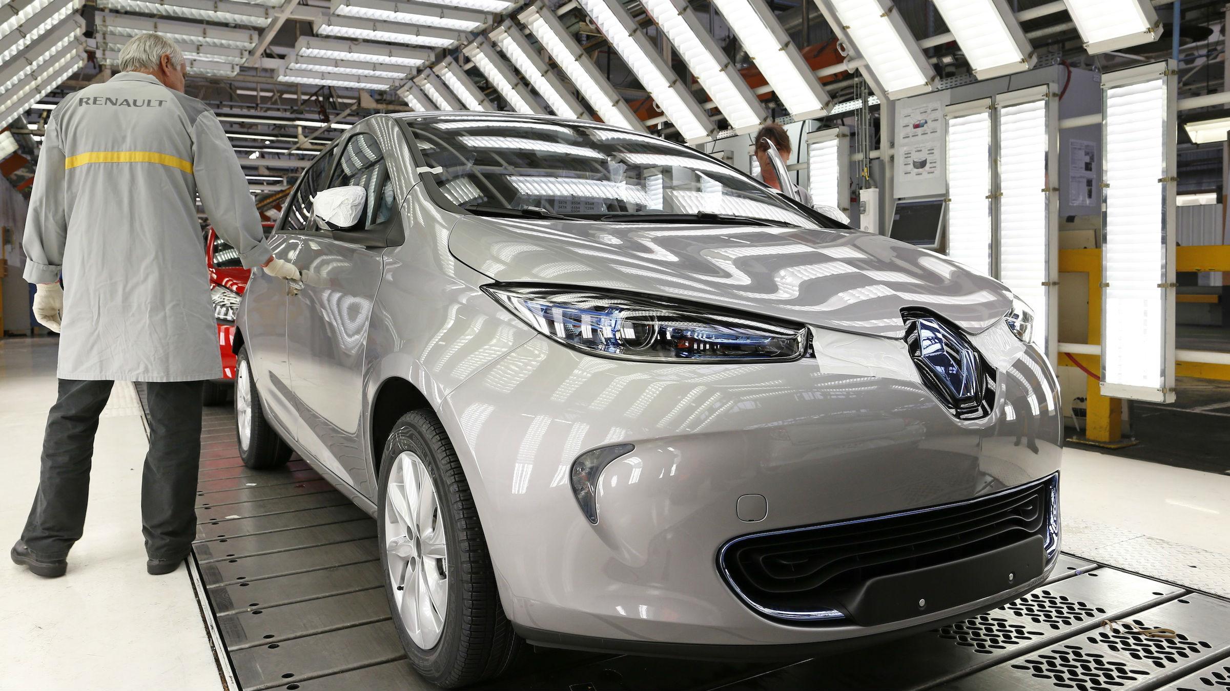Renault Zoe china
