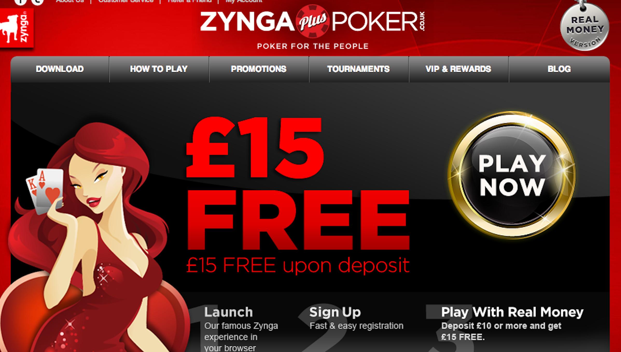 Zynga is betting on betting.