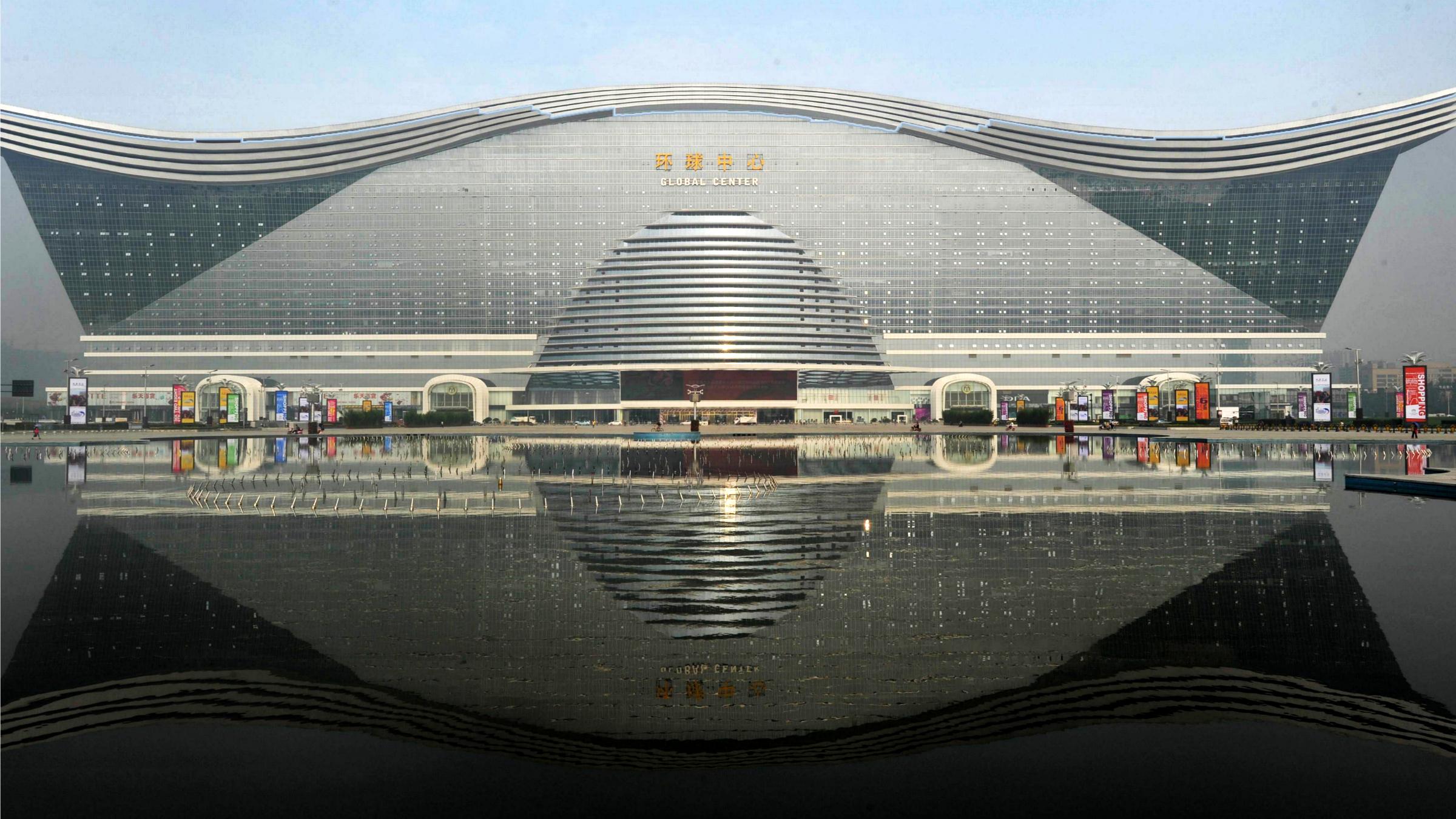Attirant The Worldu0027s New Largest Building Is Four Times The Size Of Vatican City U2014  Quartz
