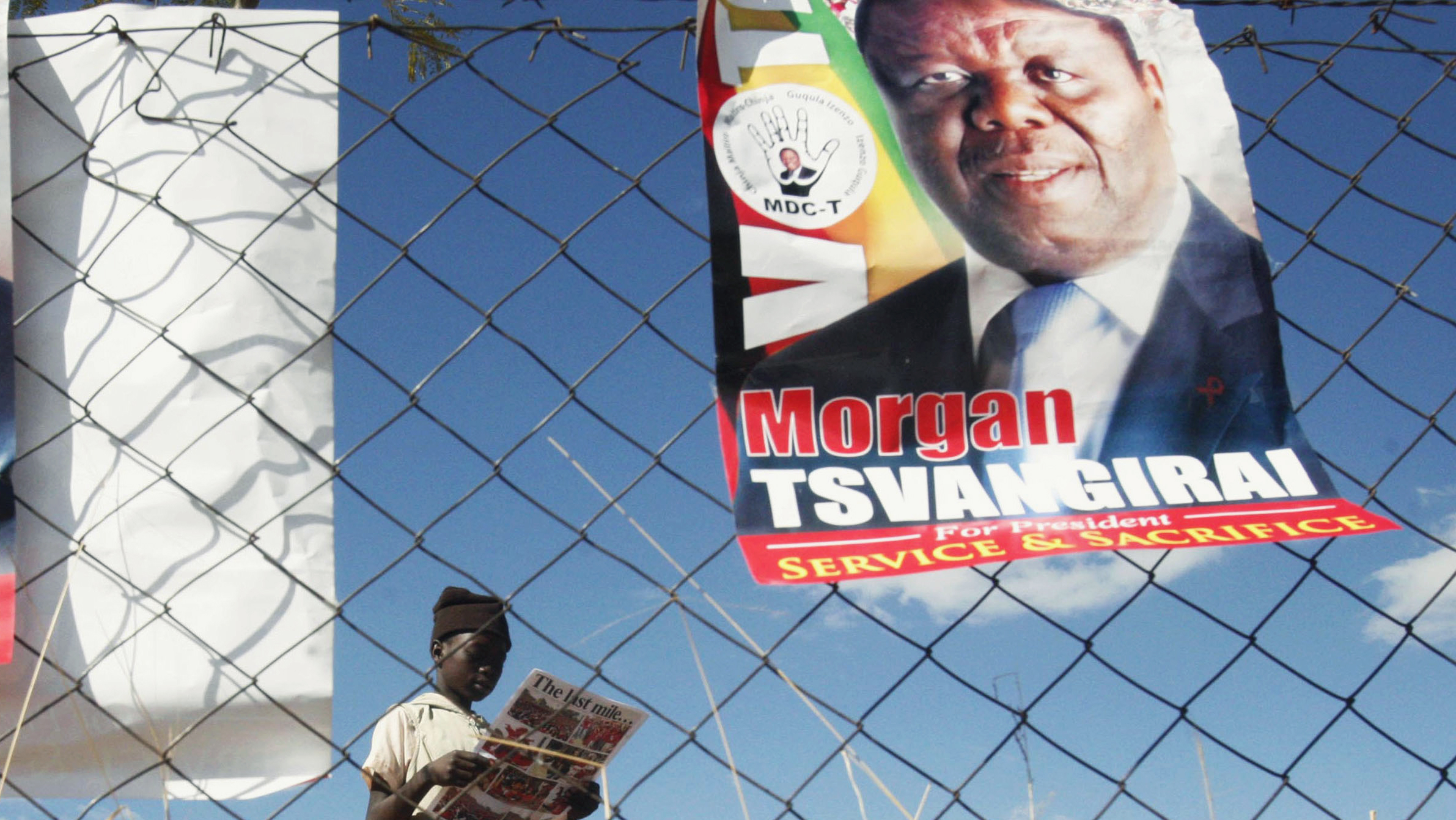 Opposition candidates in the Zimbabwe elections will be reverting to traditional means such as releasing pamphlets and posters.