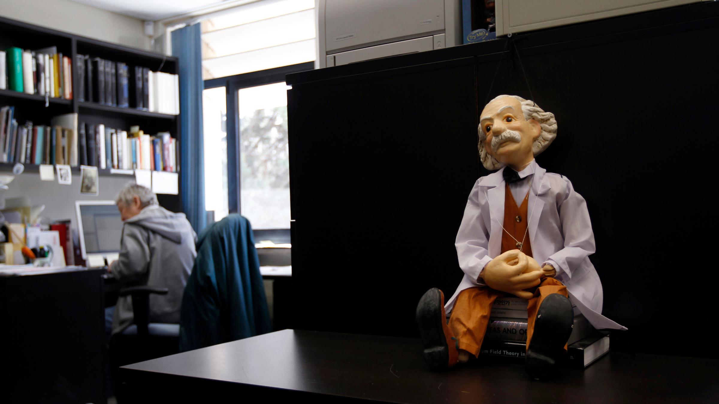 Albert Einstein figurine