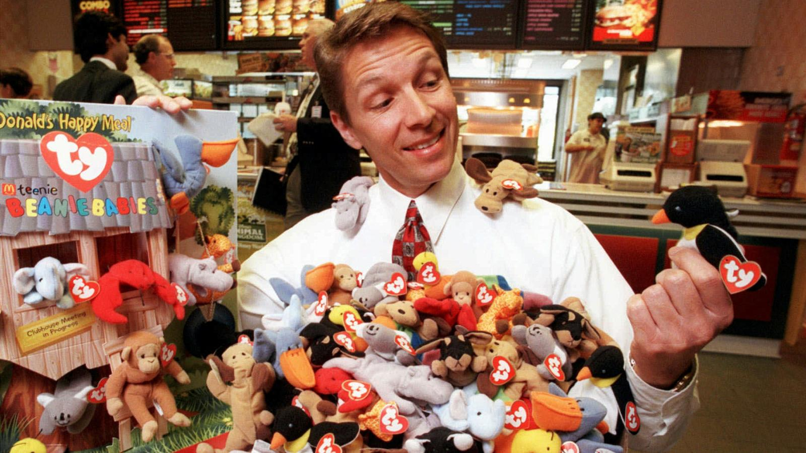 209aa8487492bf Meet the family who lost $100,000 when the Beanie Baby bubble burst ...