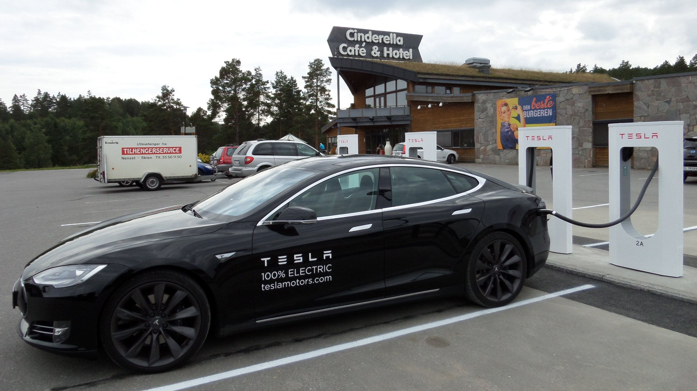 Tesla Norway charging station