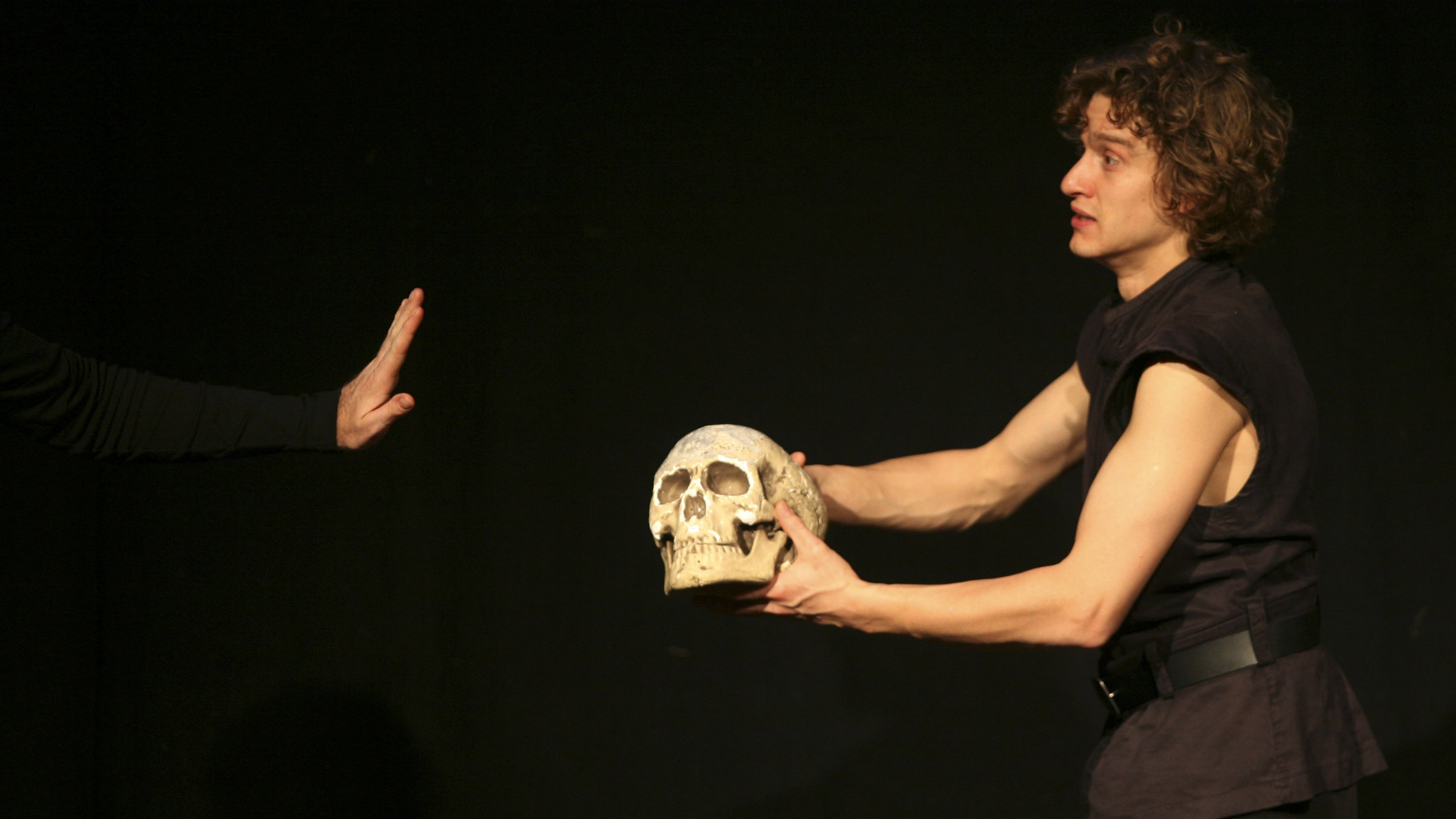 Alas, poor Yorick: The British Library blocked him.