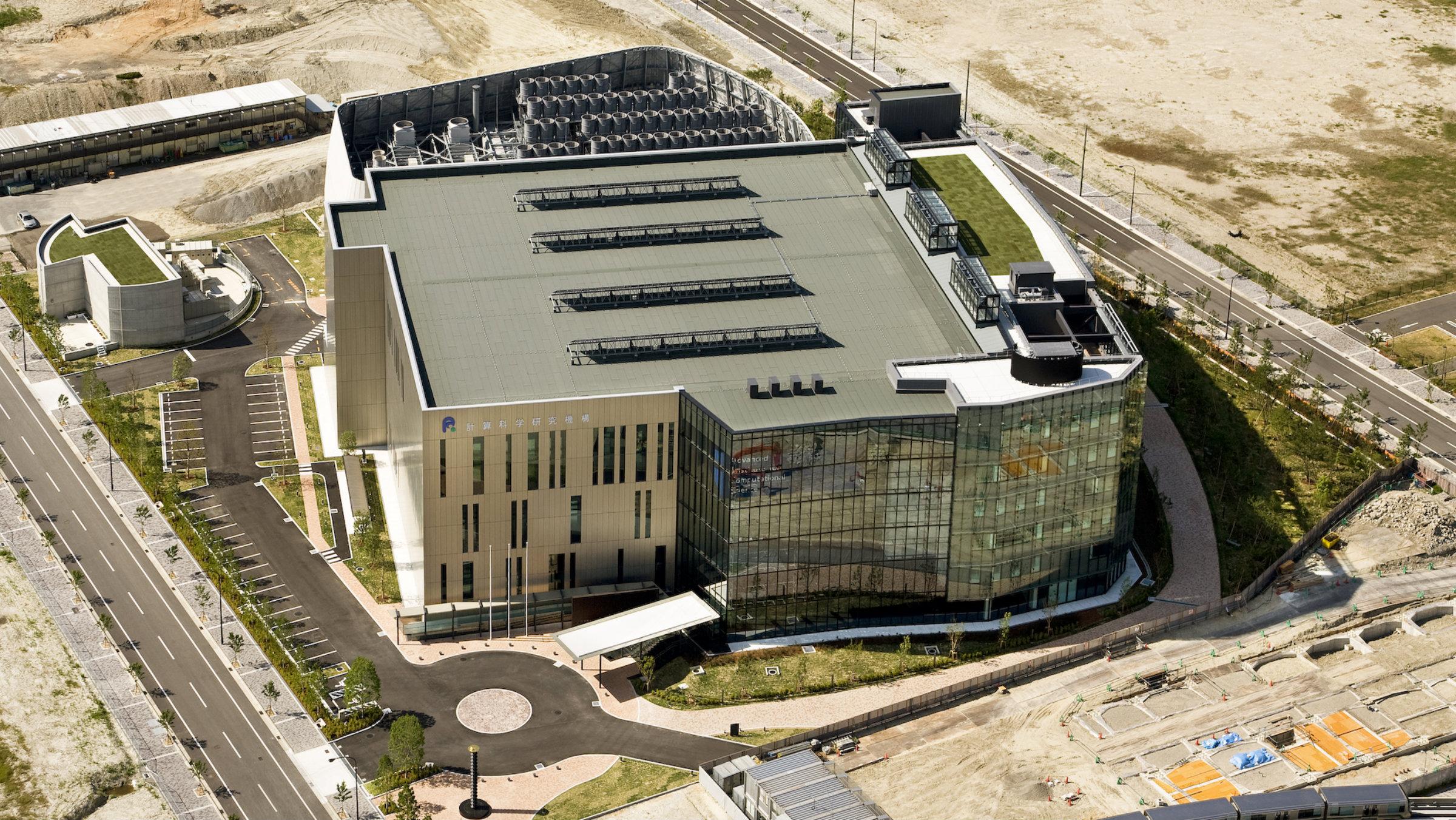 K Computer brain simulation building