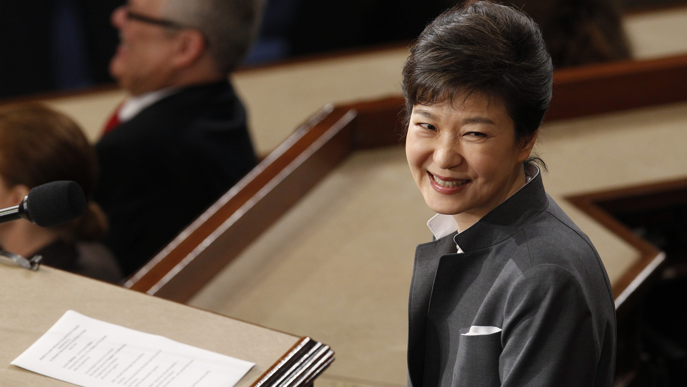 President Park Geun-hye's online popularity is on the up