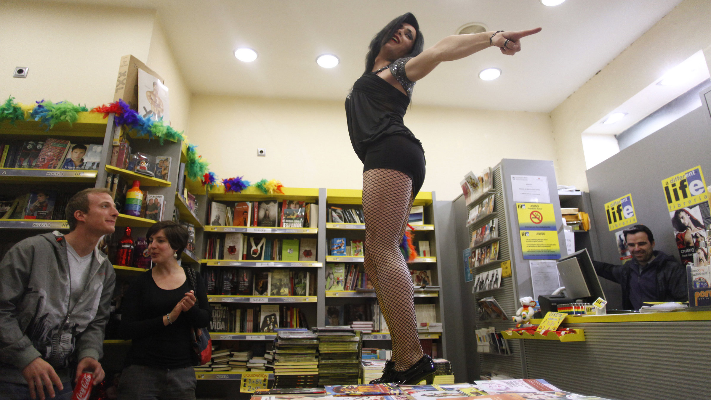 The quirkiness of independent bookstores that Amazon can't replicate.