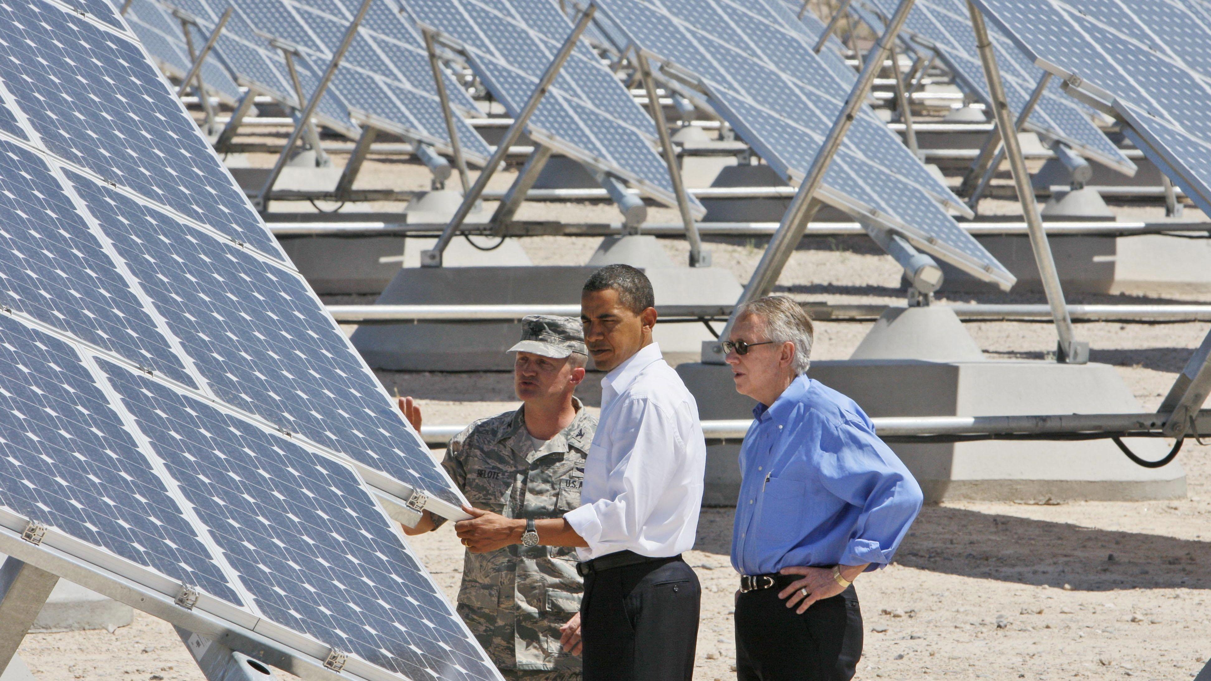 military solar
