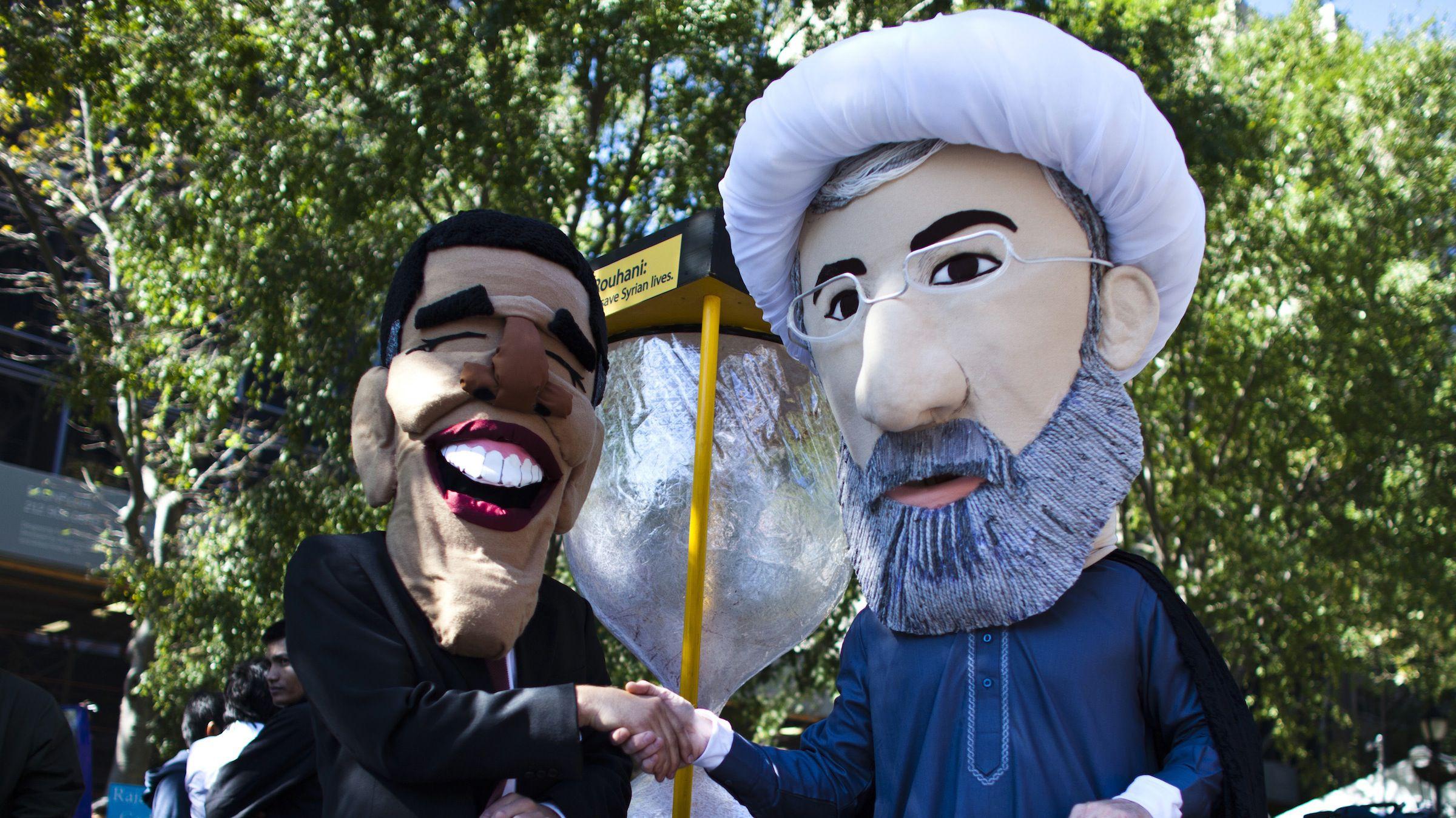 Obama-Rouhani